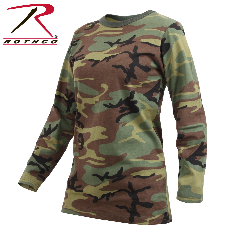 camo t shirt camo camouflage woodland camo long sleeve t shirts. Black Bedroom Furniture Sets. Home Design Ideas