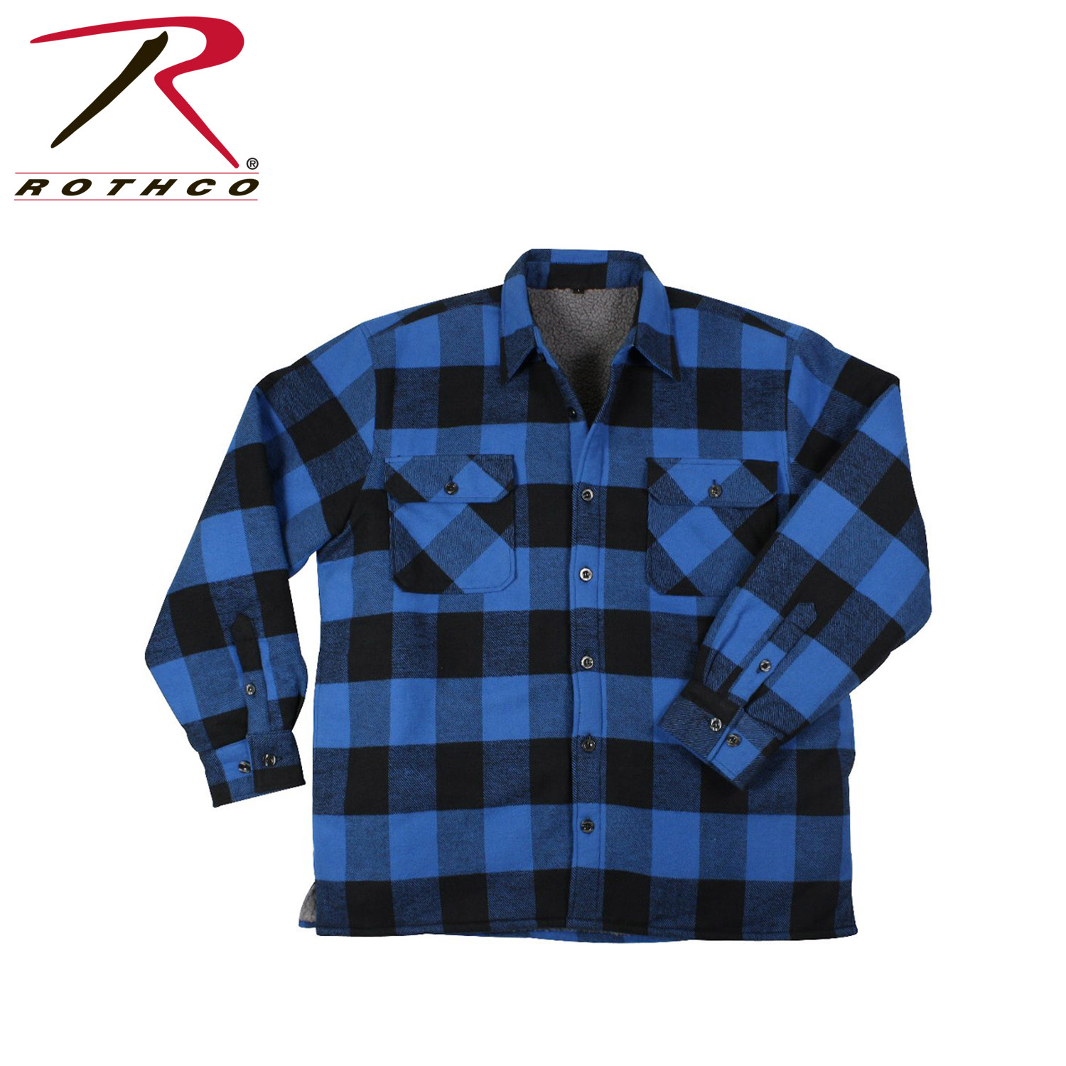 Document moved for Sherpa lined flannel shirt