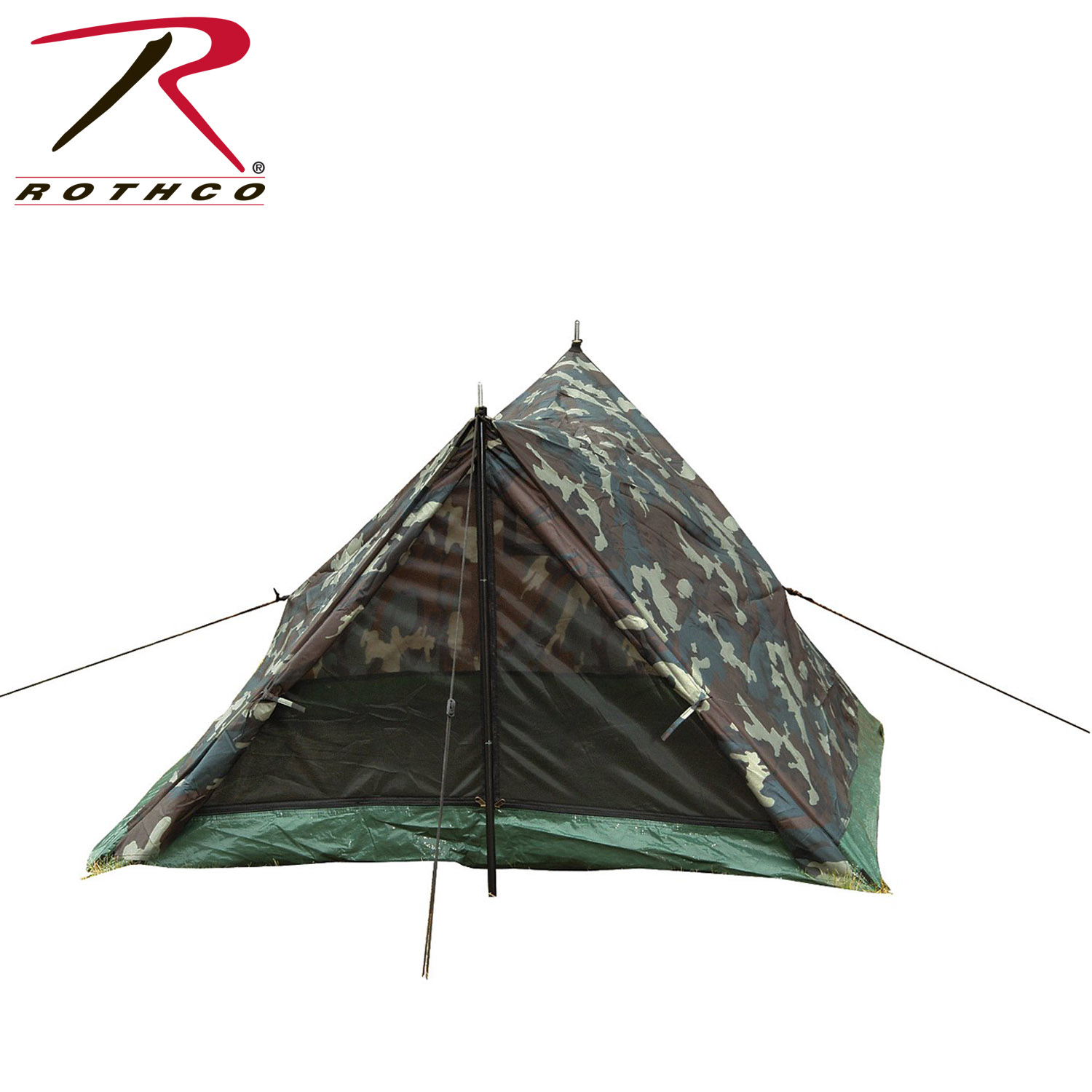 Loading zoom  sc 1 st  Rothco & Rothco Camo Two Man Trail Tent