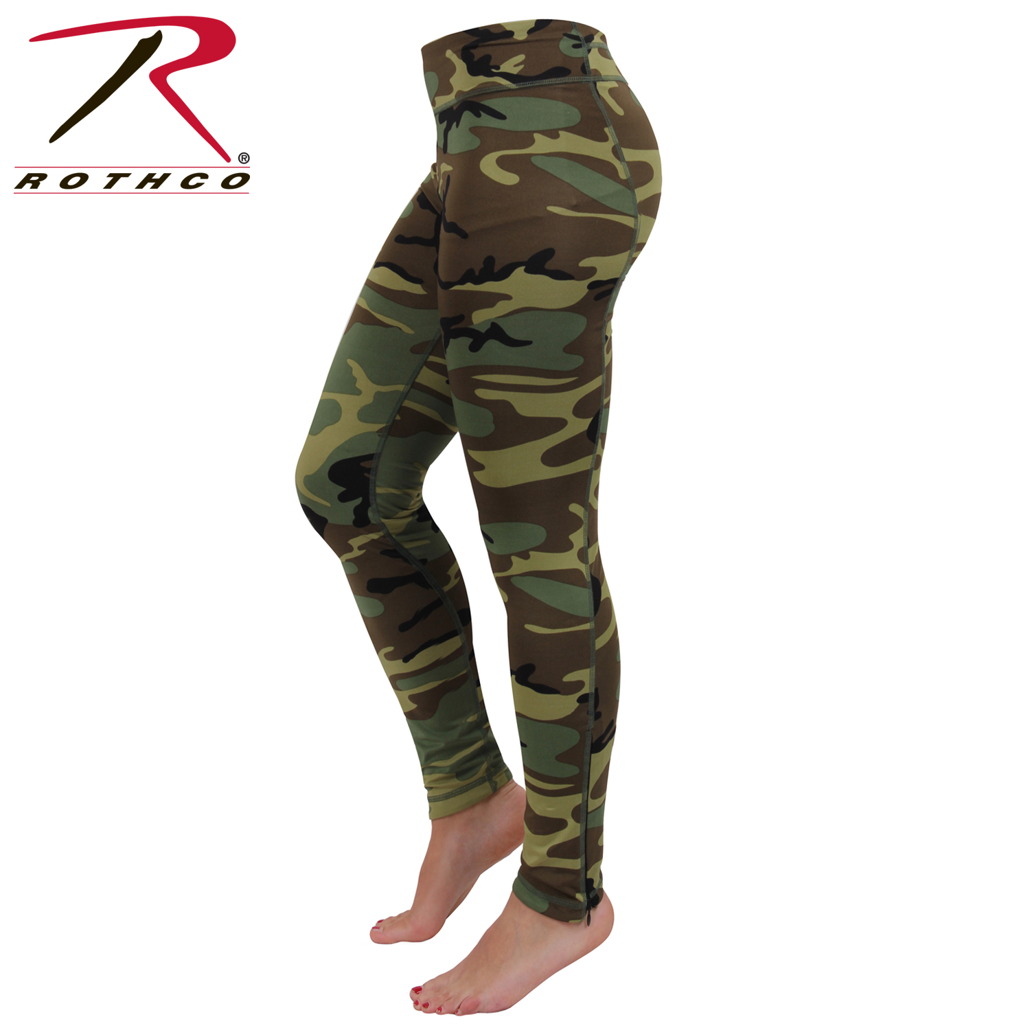 Rothco Womens Camo Performance Leggings