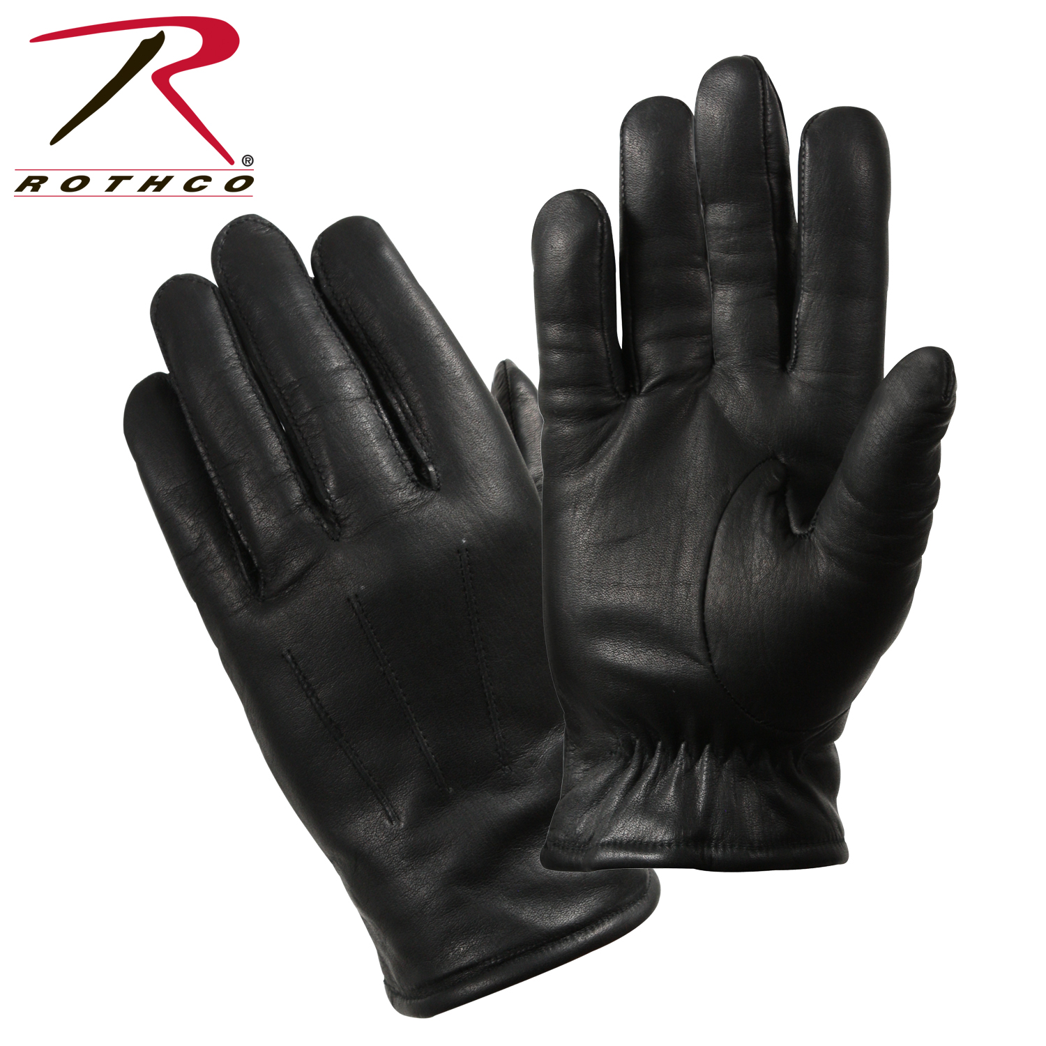 Rothco Cold Weather Leather Police Gloves Glove Loading Zoom
