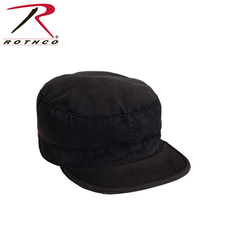 4b33a632583 Rothco Solid Vintage Fatigue Cap