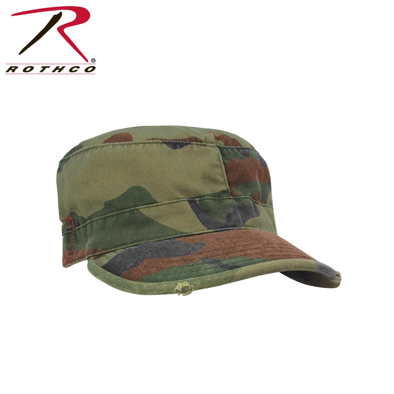 8657e785b3e Rothco Vintage Camo Fatigue Caps