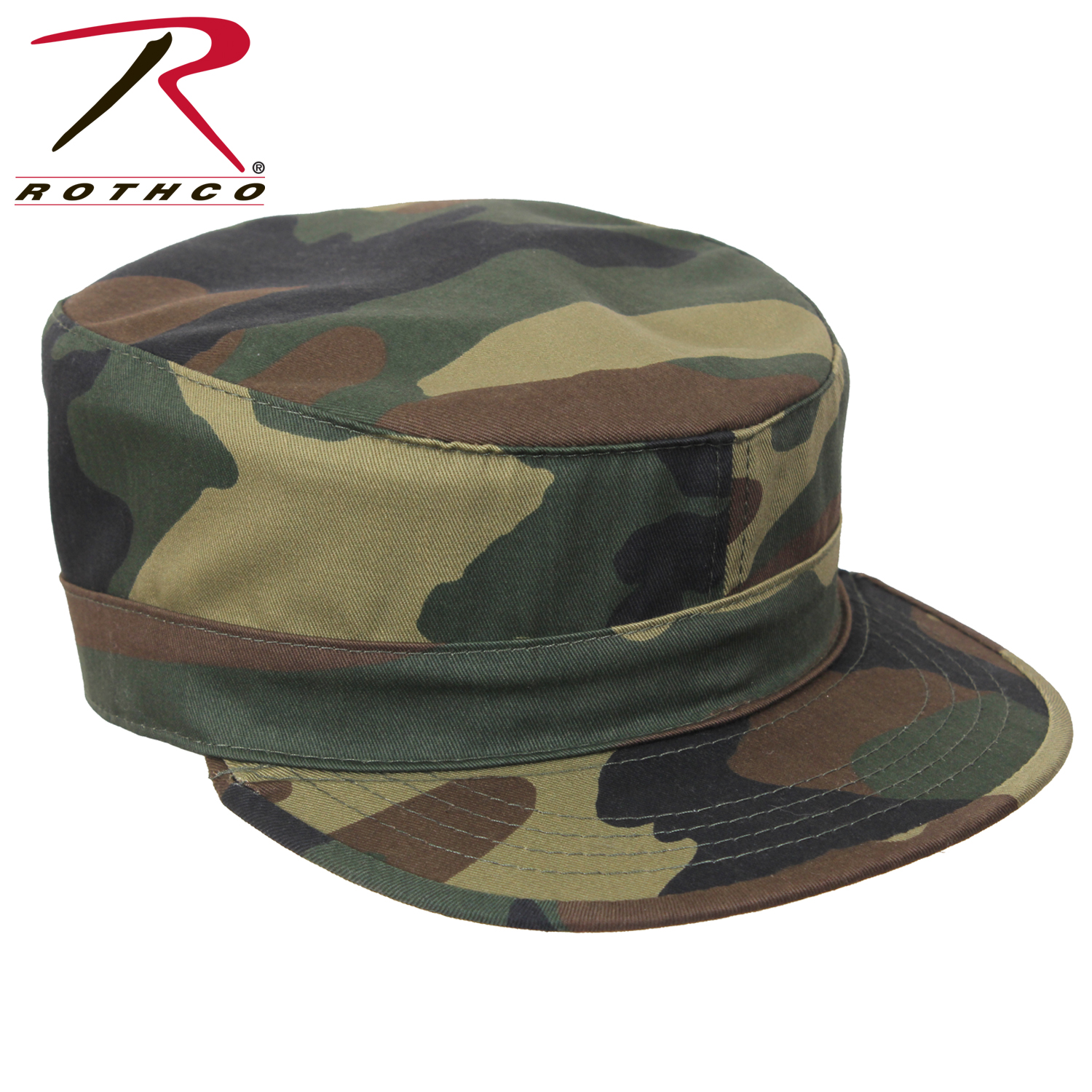 5618cc20aa0 Rothco Adjustable Camo Fatigue Cap