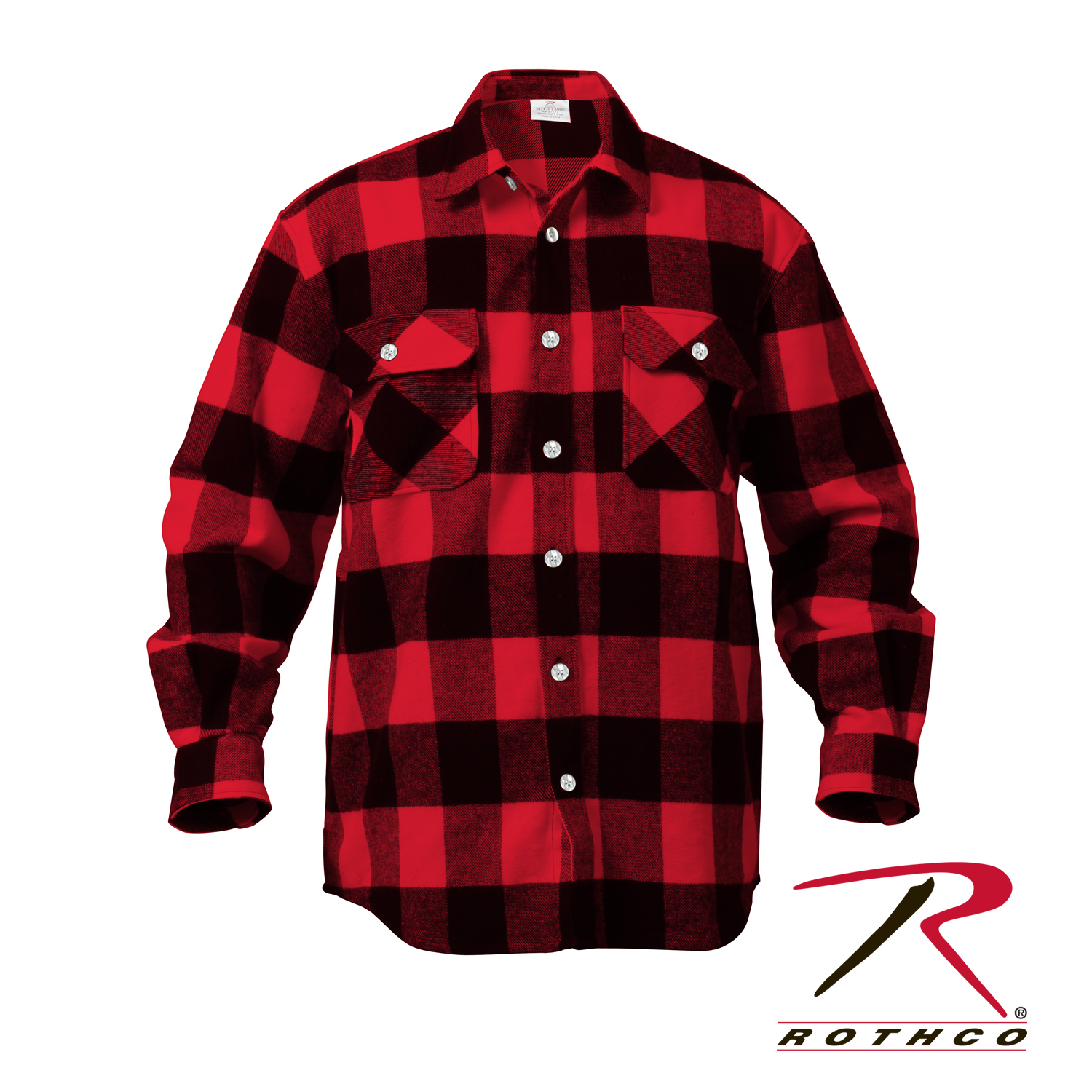 a6ffd341 Rothco Extra Heavyweight Buffalo Plaid Flannel Shirts
