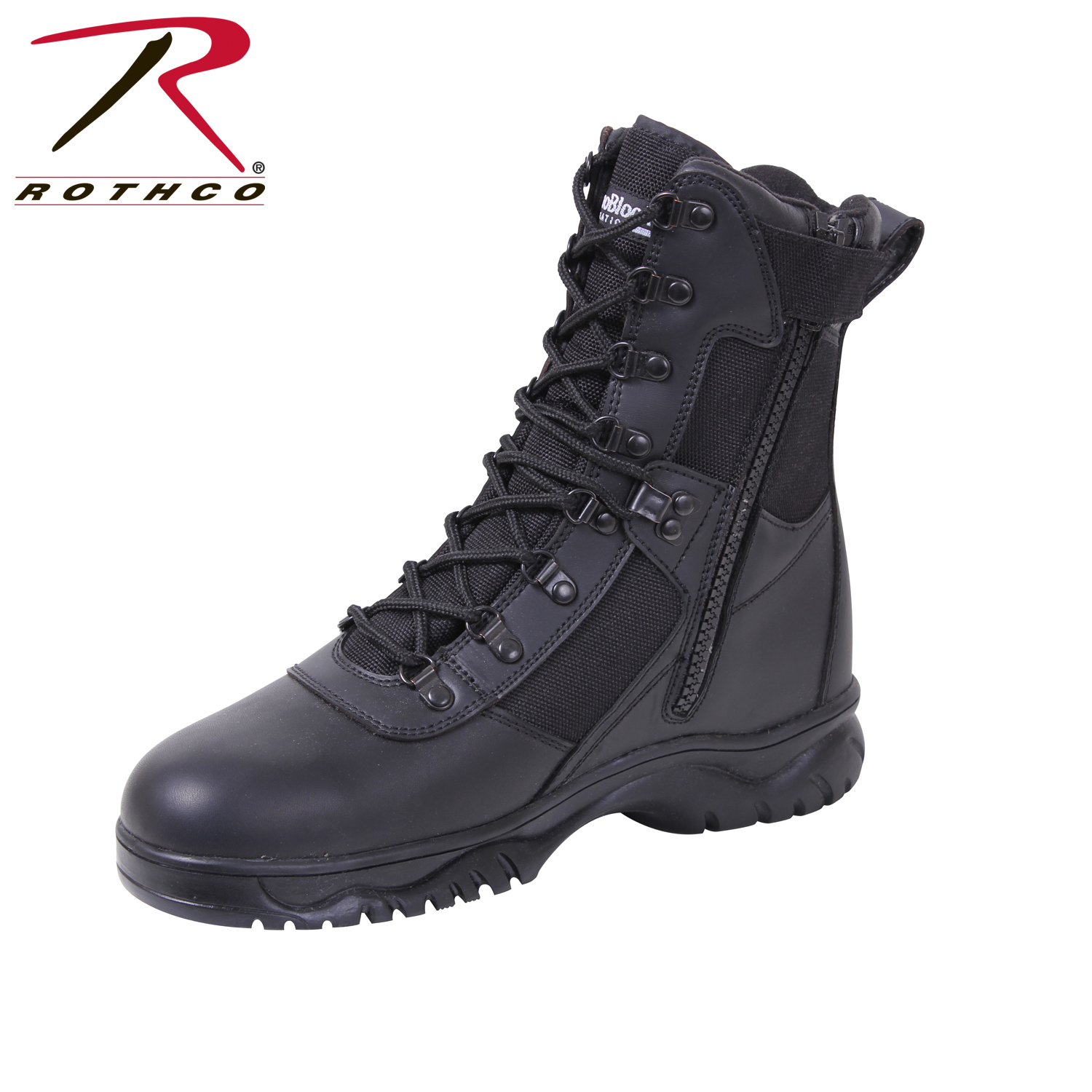 Image result for Rothco Insulated 8 Inch Side Zip Tactical Boot
