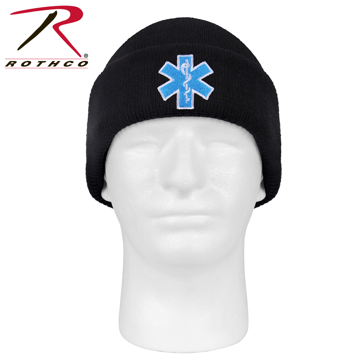 71006442556 Rothco  Star Of Life  Watch Cap