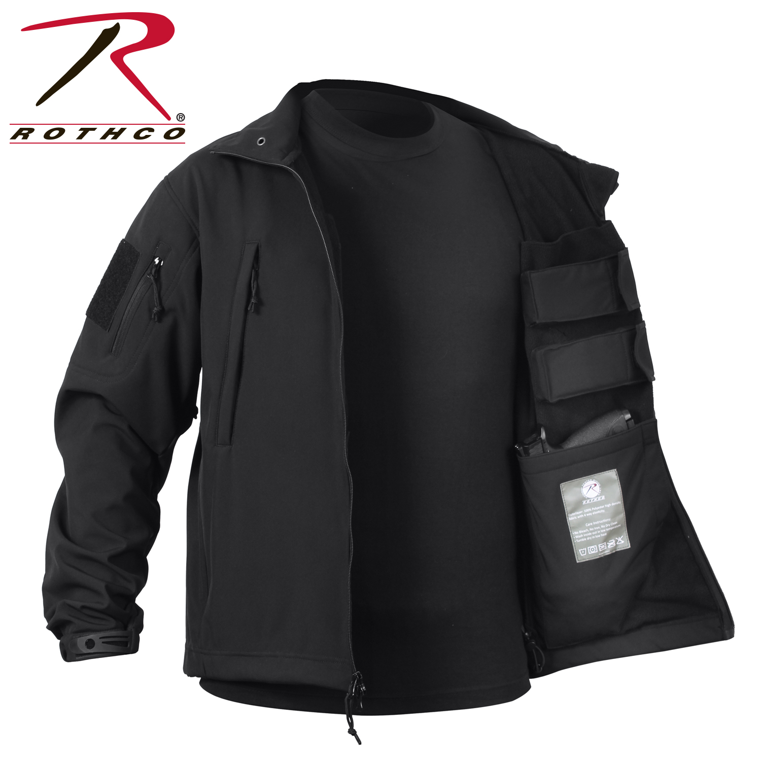 1a2f395ad3a Rothco Concealed Carry Soft Shell Jacket