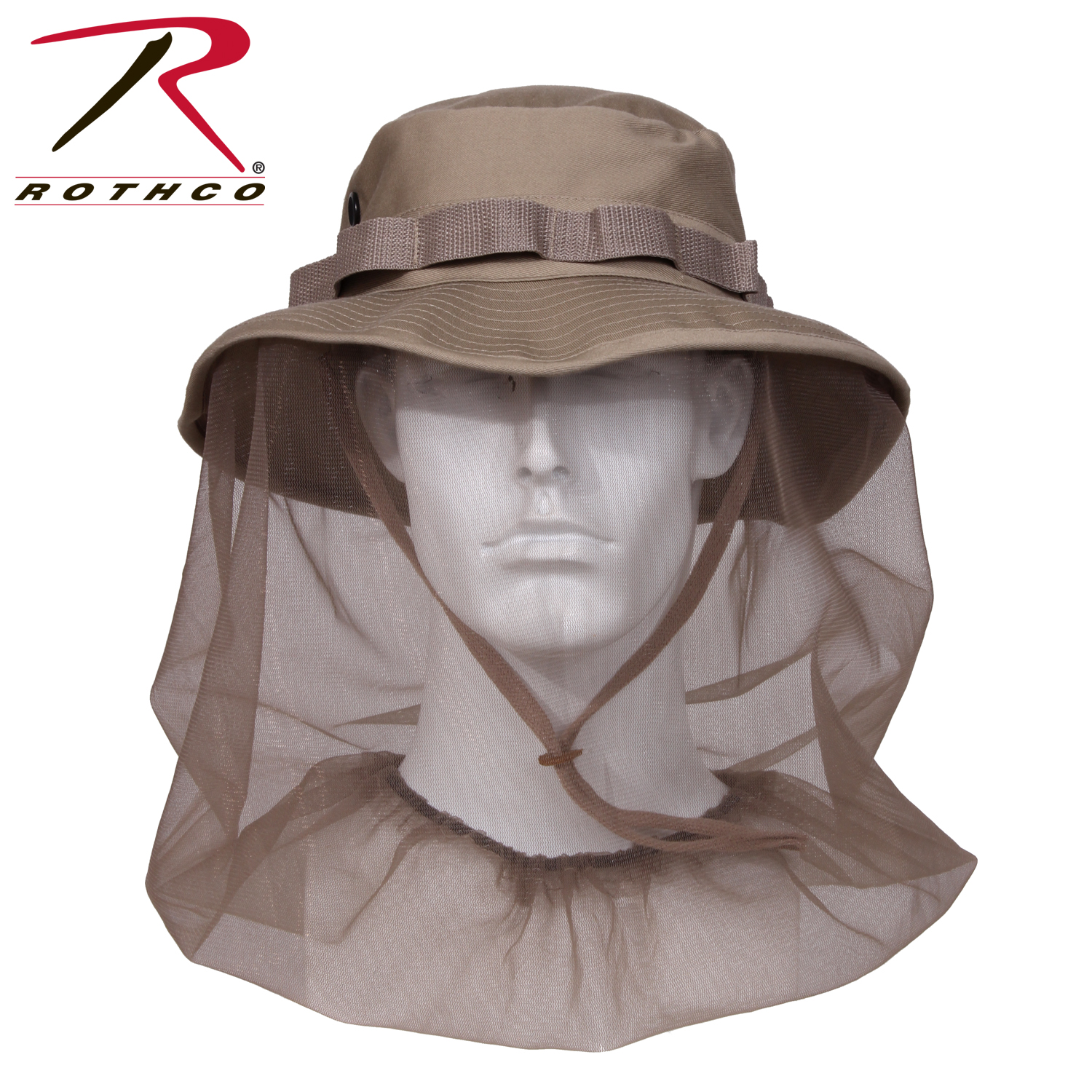 4d016b4ee50 Rothco Boonie Hat With Mosquito Netting