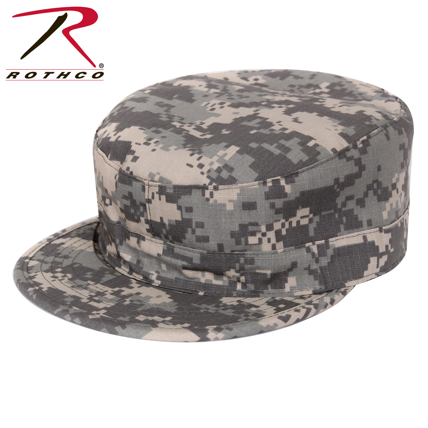 Rothco Gov t Spec 2 Ply Poly Cotton Rip-Stop Army Ranger Fatigue Cap 97ed9287bbf