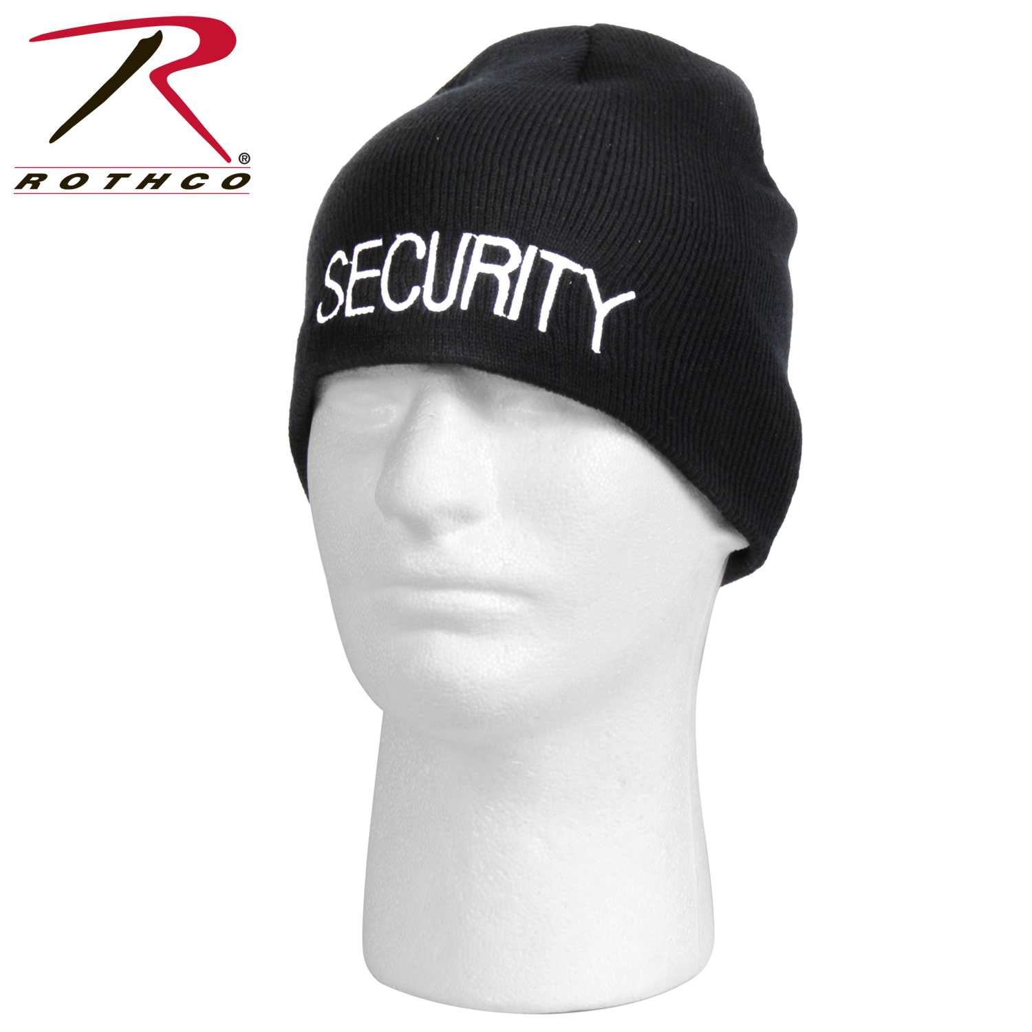 0134755b823 Rothco Embroidered Security Acrylic Skull Cap -