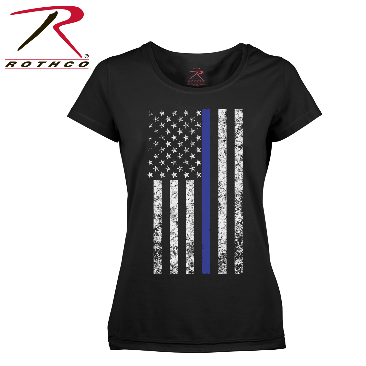 e15dd605 ... women's thin blue line longer t. Loading zoom