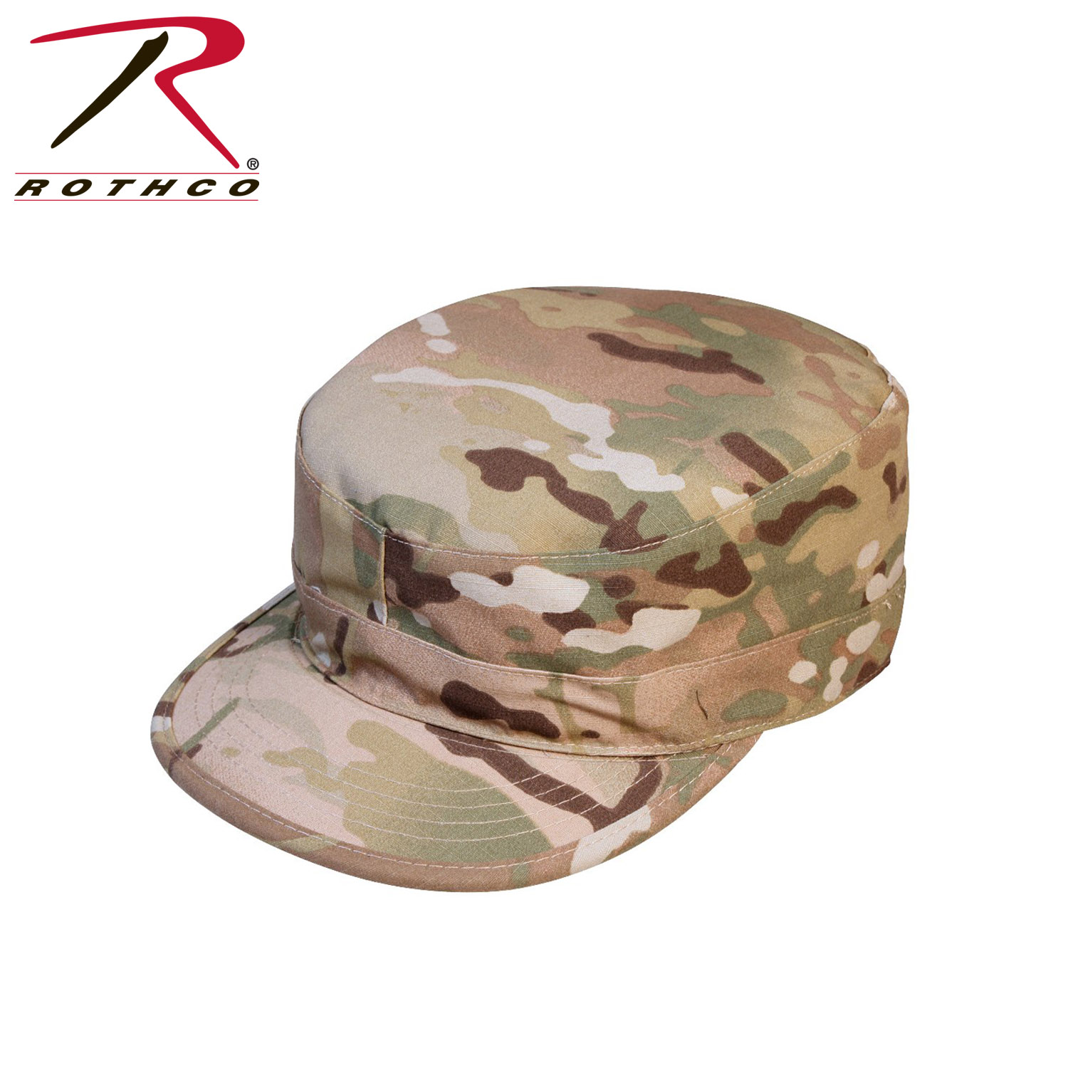 Rothco Gov t Spec 2 Ply Multicam Army Ranger Fatigue Cap 74df95457d7