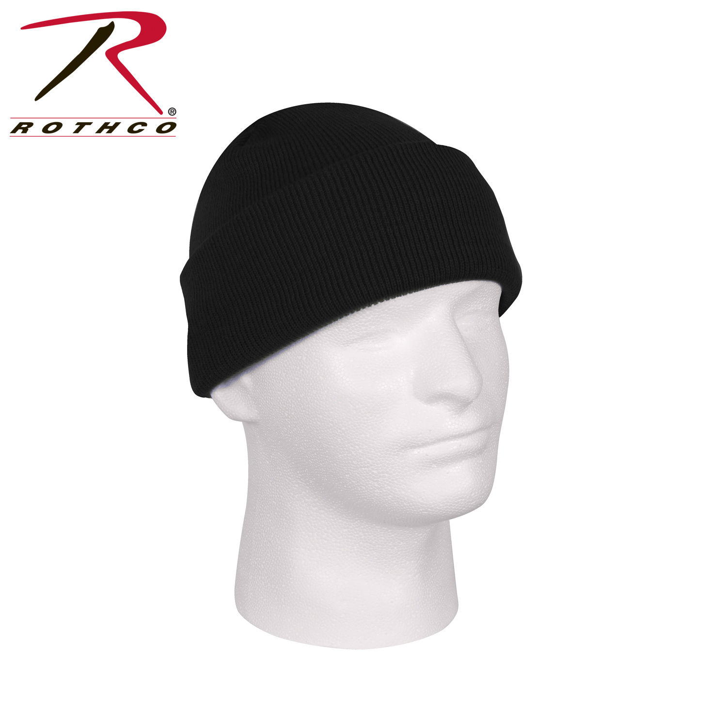 Loading zoom. Rothco Deluxe Fine Knit Watch Cap ... cad1c781f0c4
