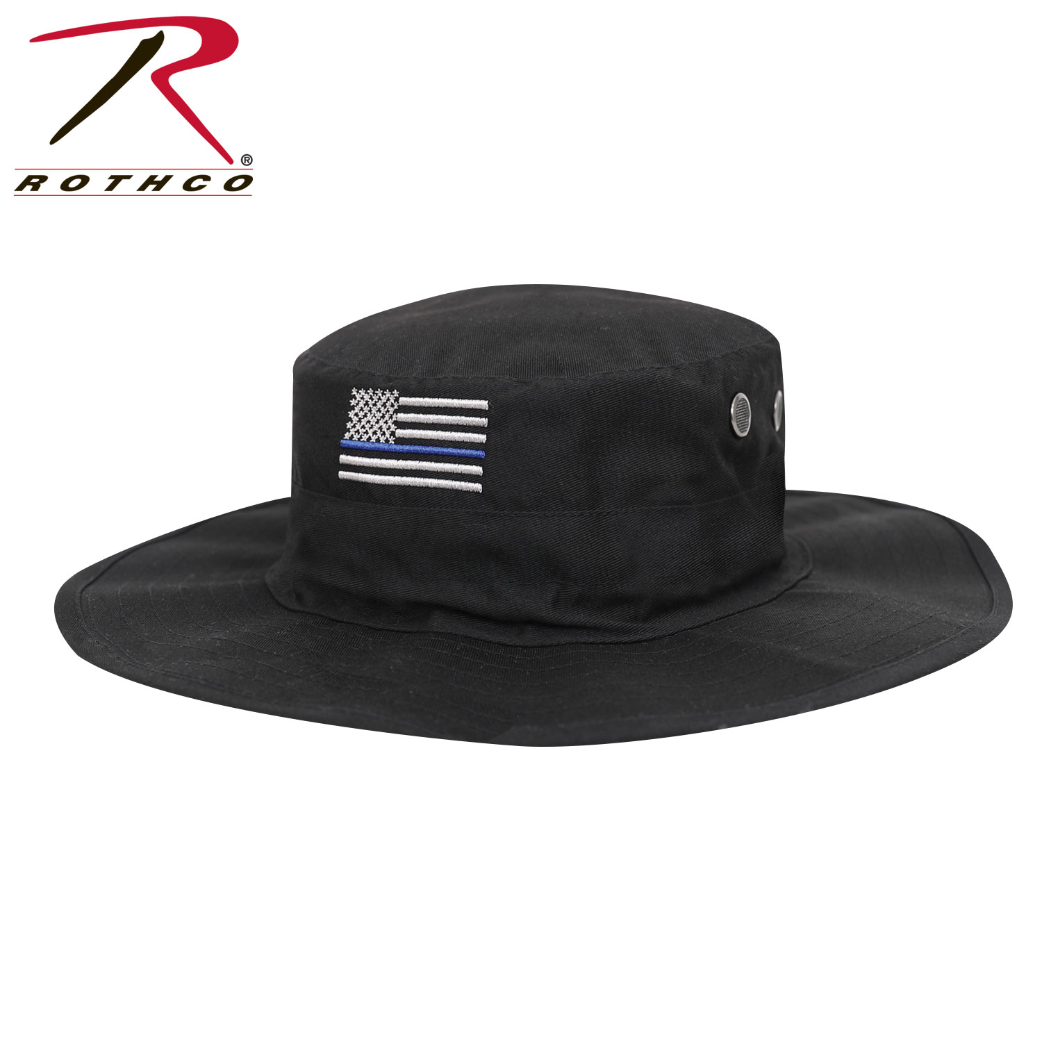 Rothco Thin Blue Line Adjustable Boonie Hat 32def0f390c8
