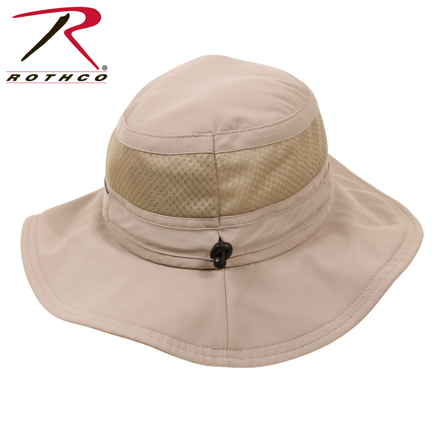 4a3aa82ab33 Rothco Lightweight Adjustable Mesh Boonie Hat