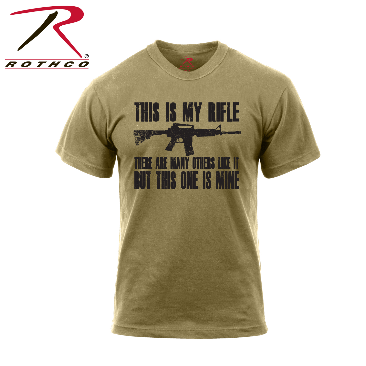 796a3bbf2 Rothco 'This Is My Rifle' T-Shirt