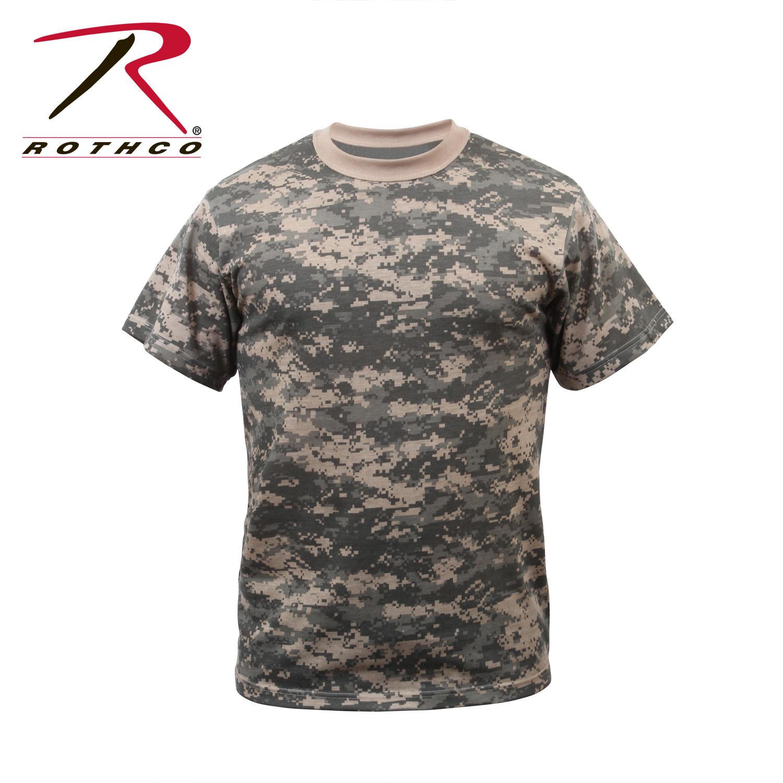 Rothco 6376 digital camo t shirt acu digital camo ebay for Camo print t shirt
