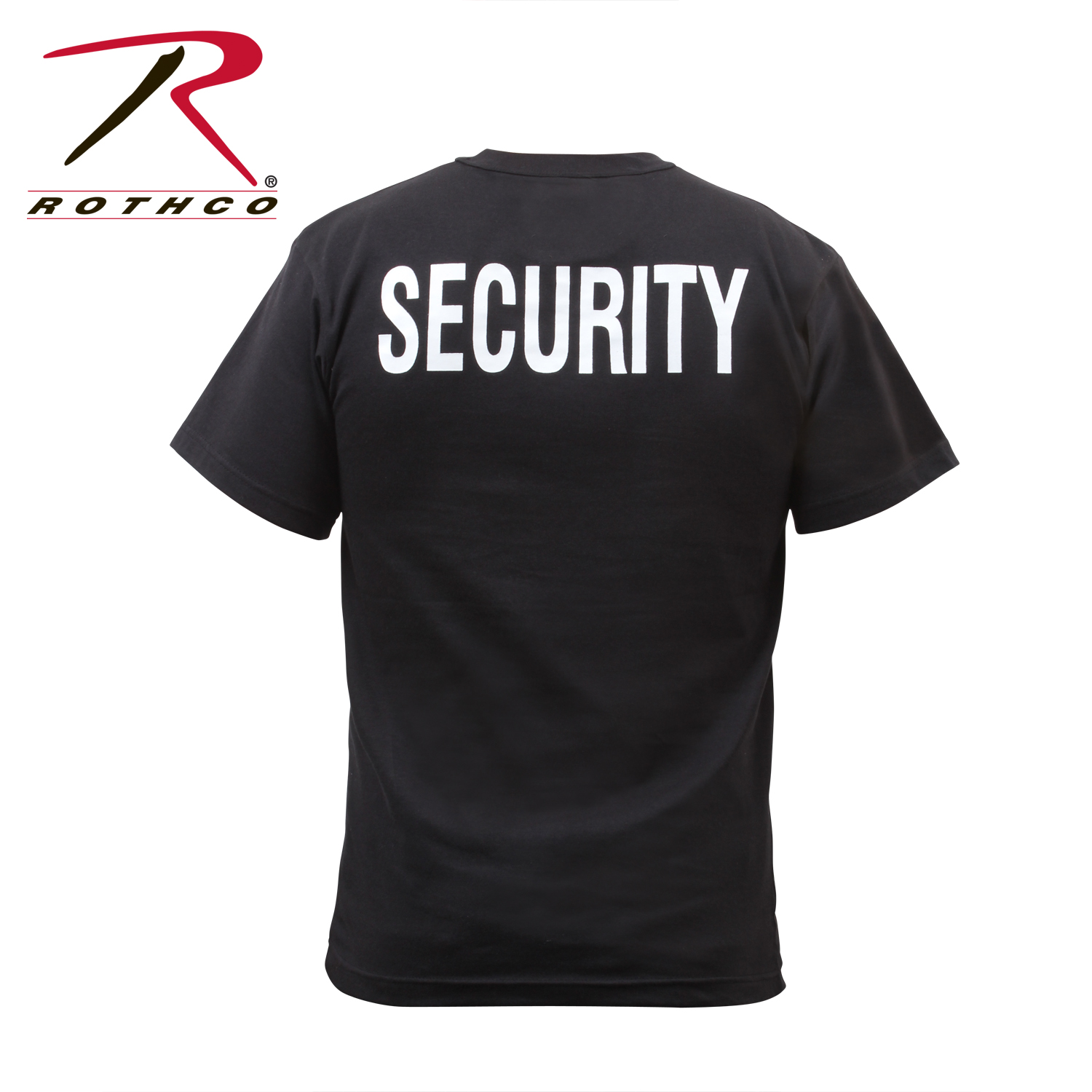 Black t shirt security - Loading Zoom