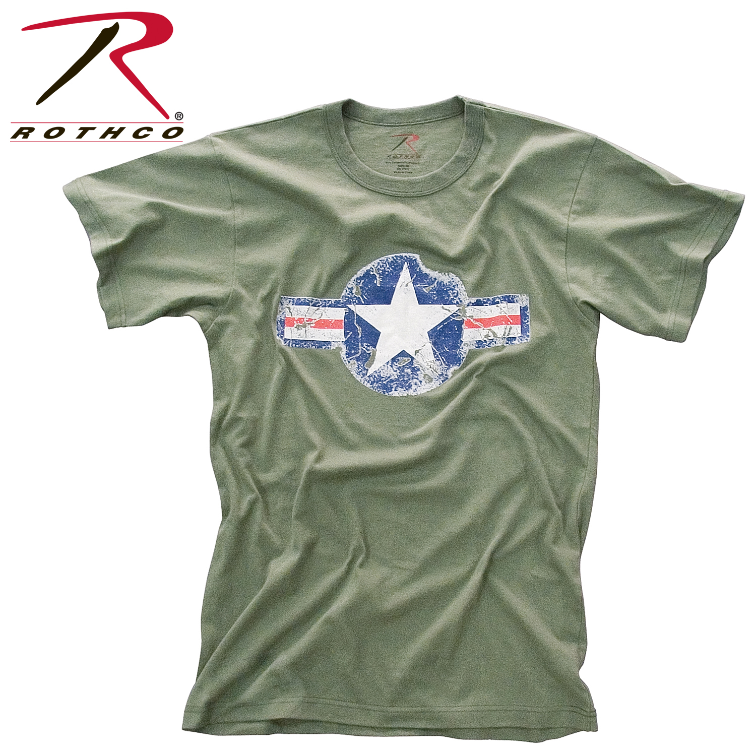 rothco vintage army air corps t shirt. Black Bedroom Furniture Sets. Home Design Ideas