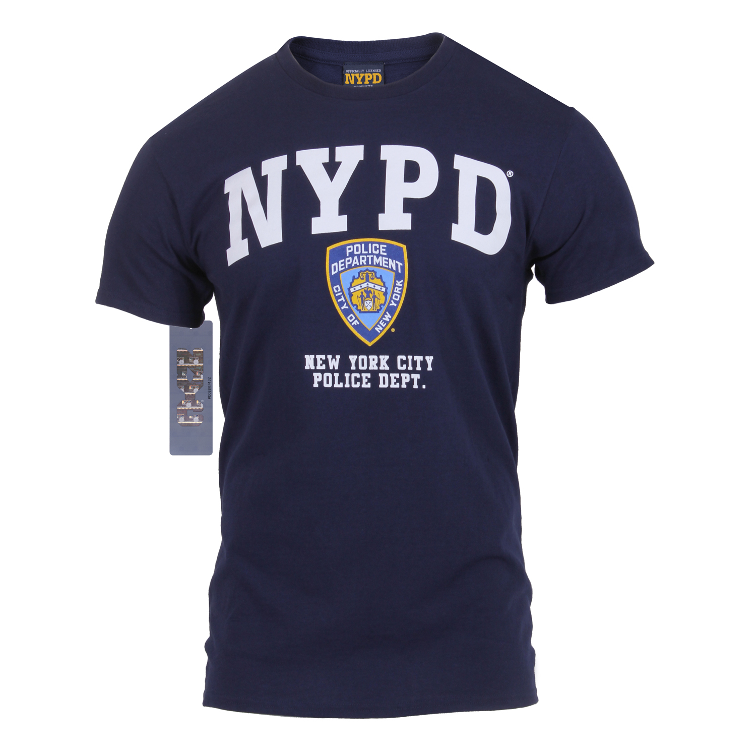 b21e03625 Officially Licensed NYPD T-shirt
