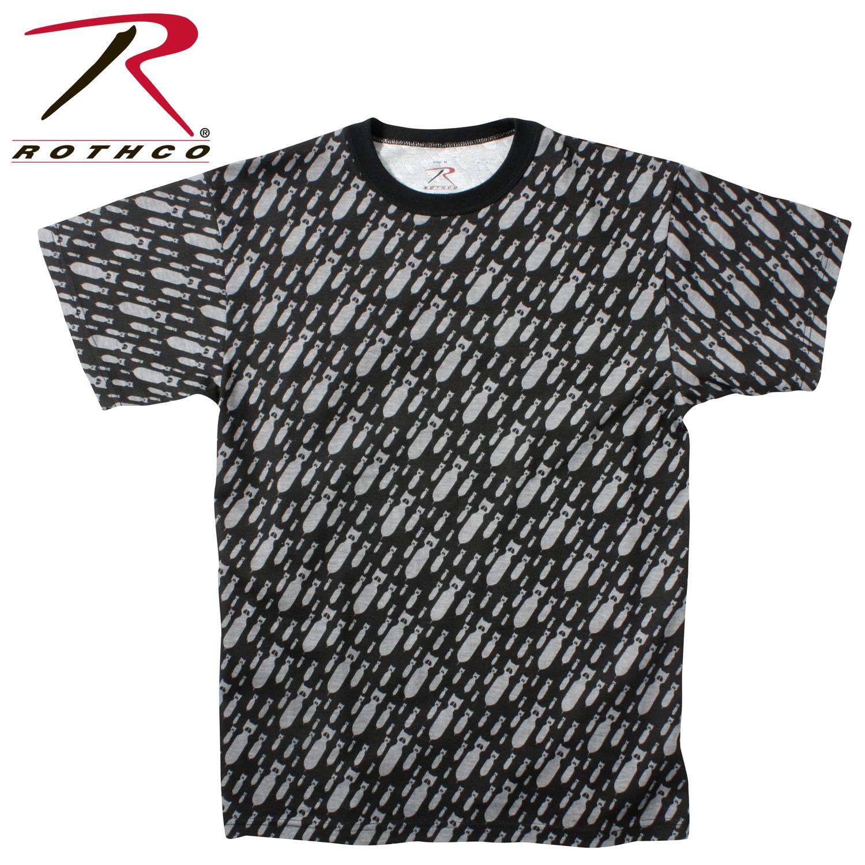 Rothco Vintage Black 'Bomb' T-Shirt