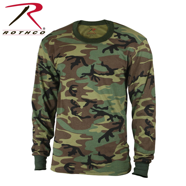 537c22ea8dc7e Rothco Kids Long Sleeve Camo T-shirt