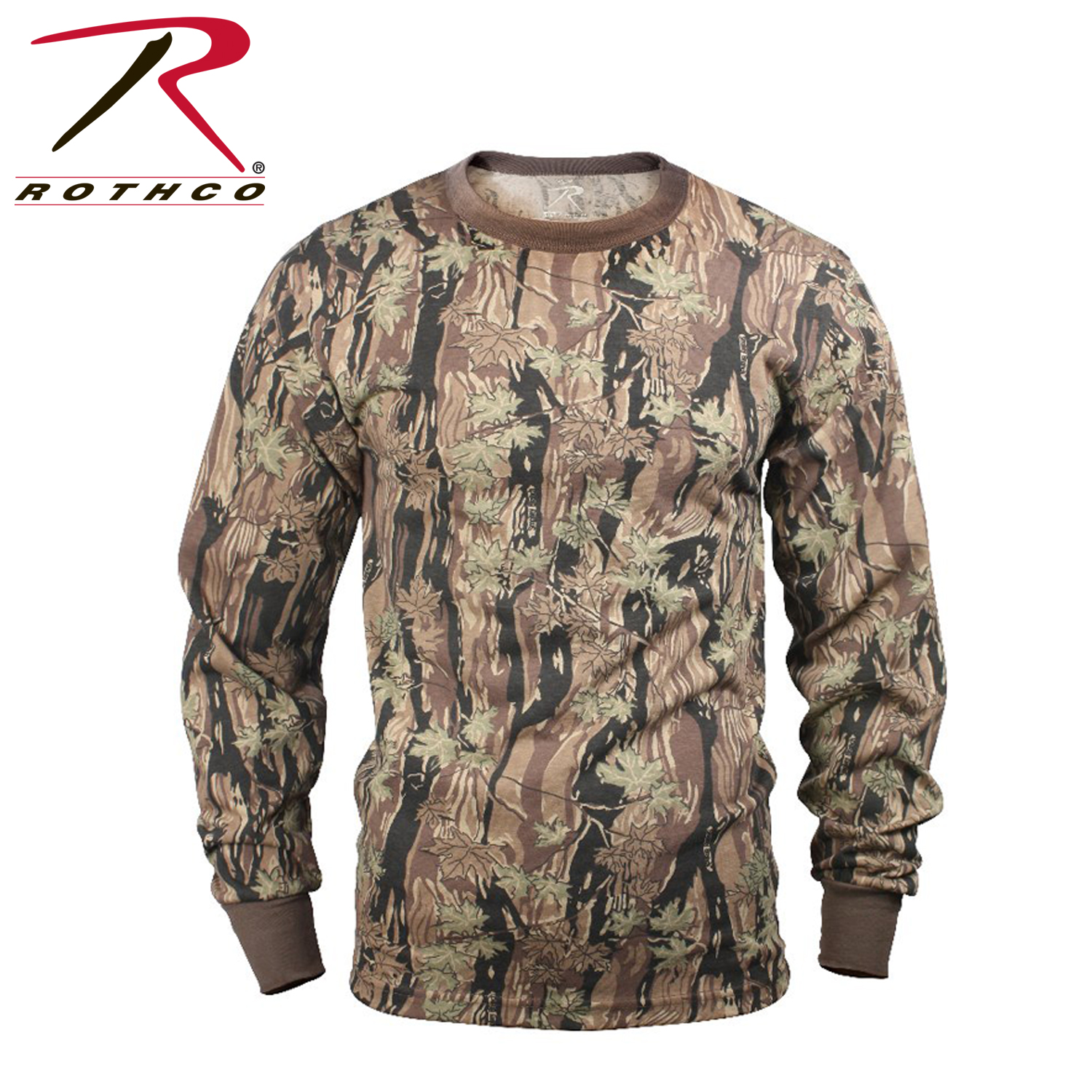 Rothco long sleeve camo t shirt for T shirt with long sleeves