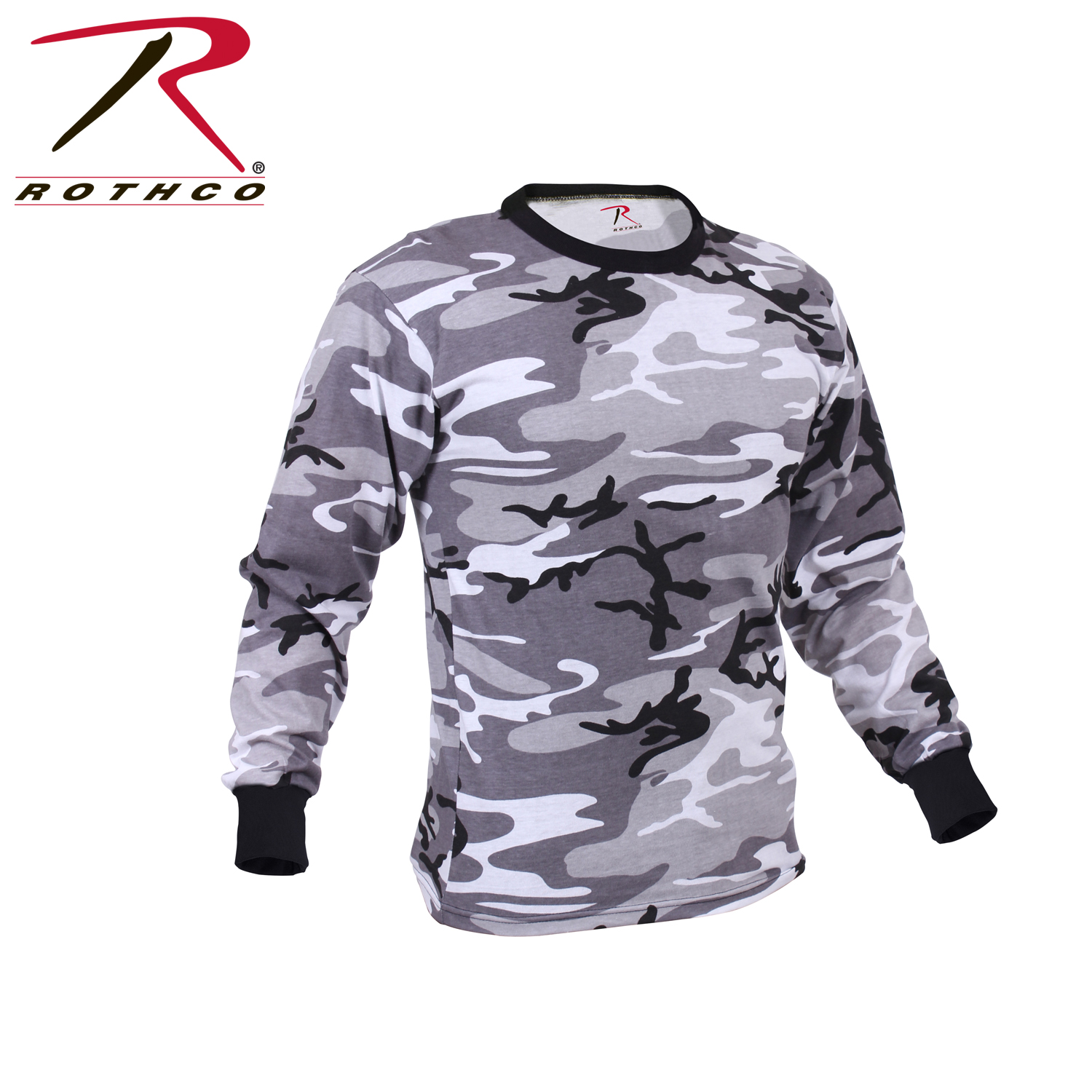 26c7f3282dc0c1 Rothco Long Sleeve Colored Camo T-Shirt