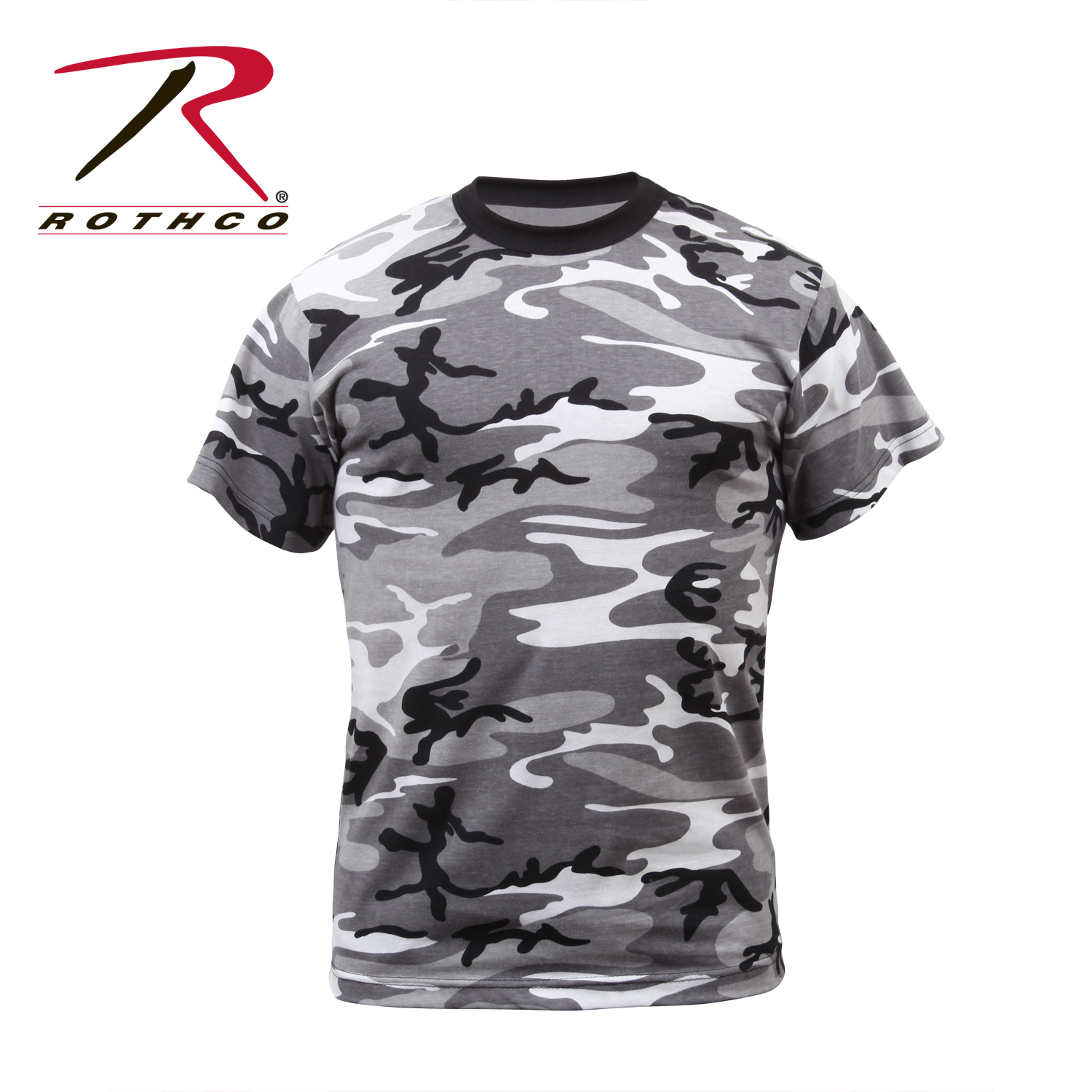 Rothco colored camo t shirts for Camouflage t shirt design