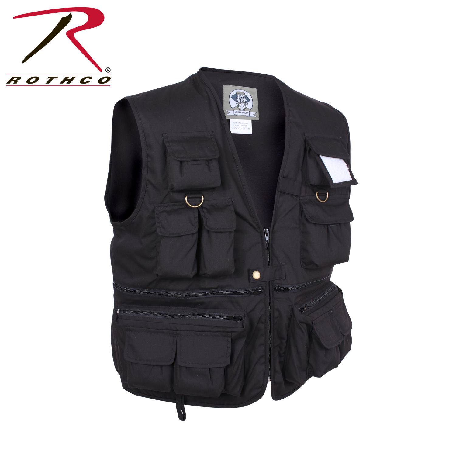 442054c07 Rothco Uncle Milty Travel Vest
