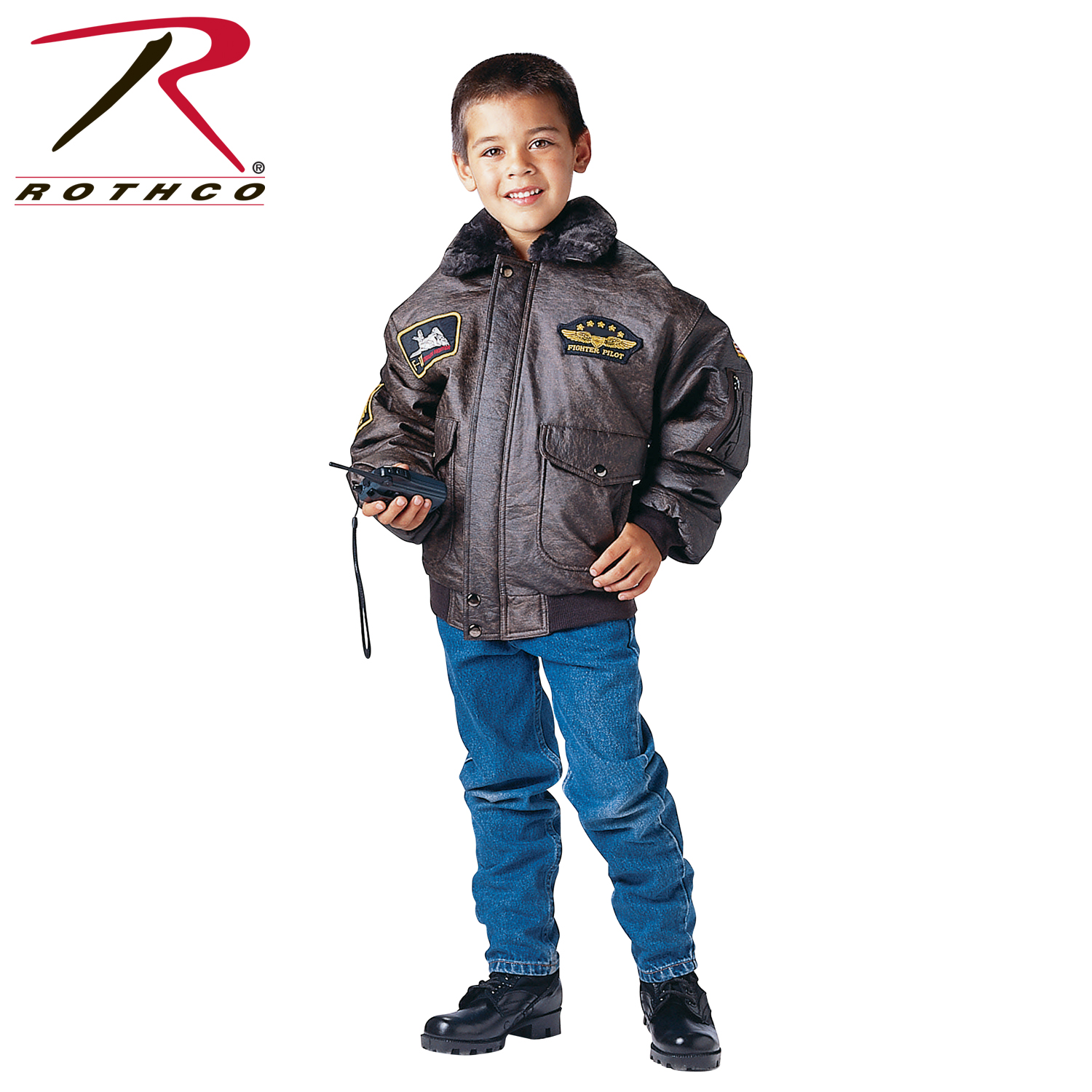 Rothco Kids WWII Aviator Flight Jacket