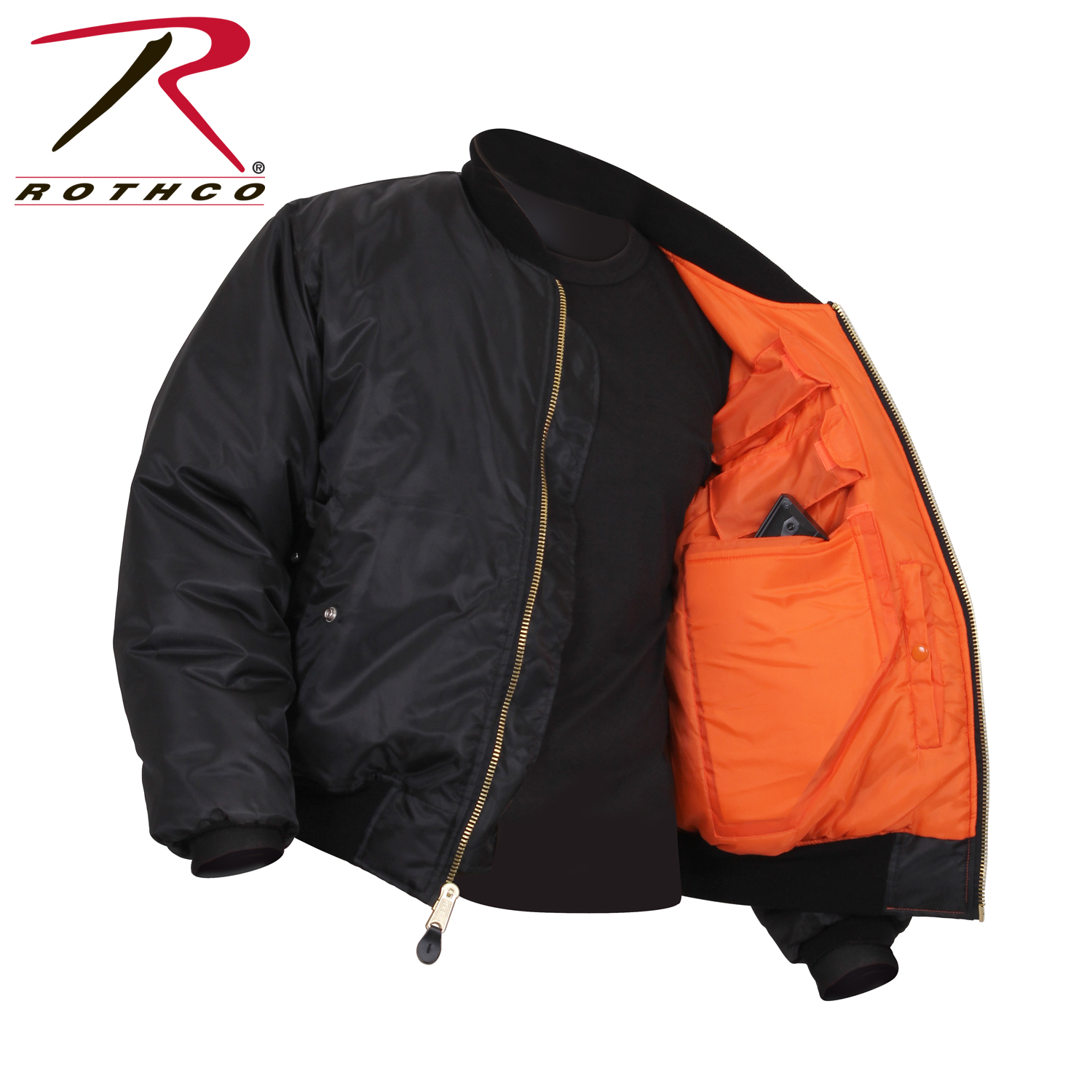 cd797d3f0 Rothco Concealed Carry MA-1 Flight Jacket