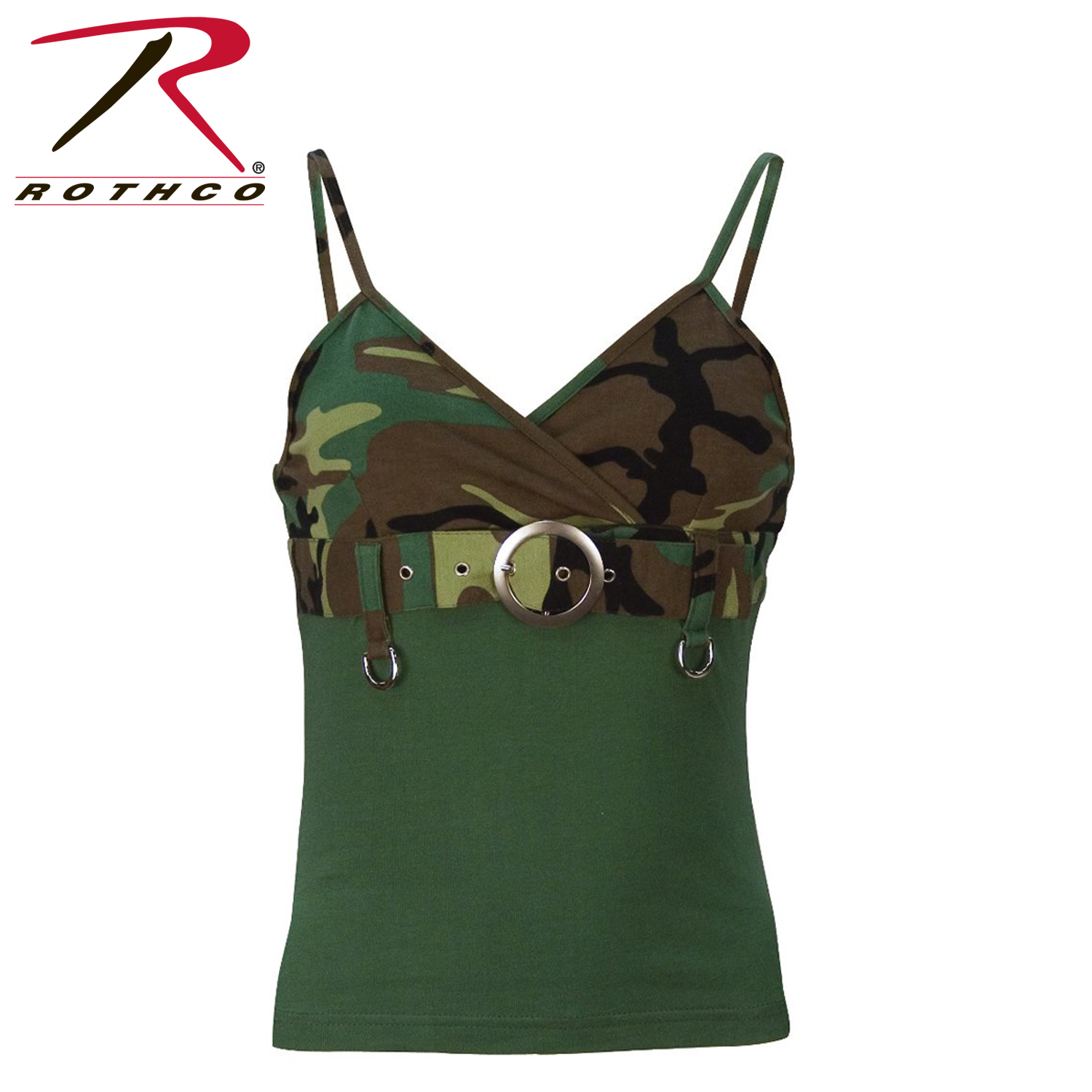 5934af435c126 Rothco Womens 2-Tone Tank Top w/ Buckle
