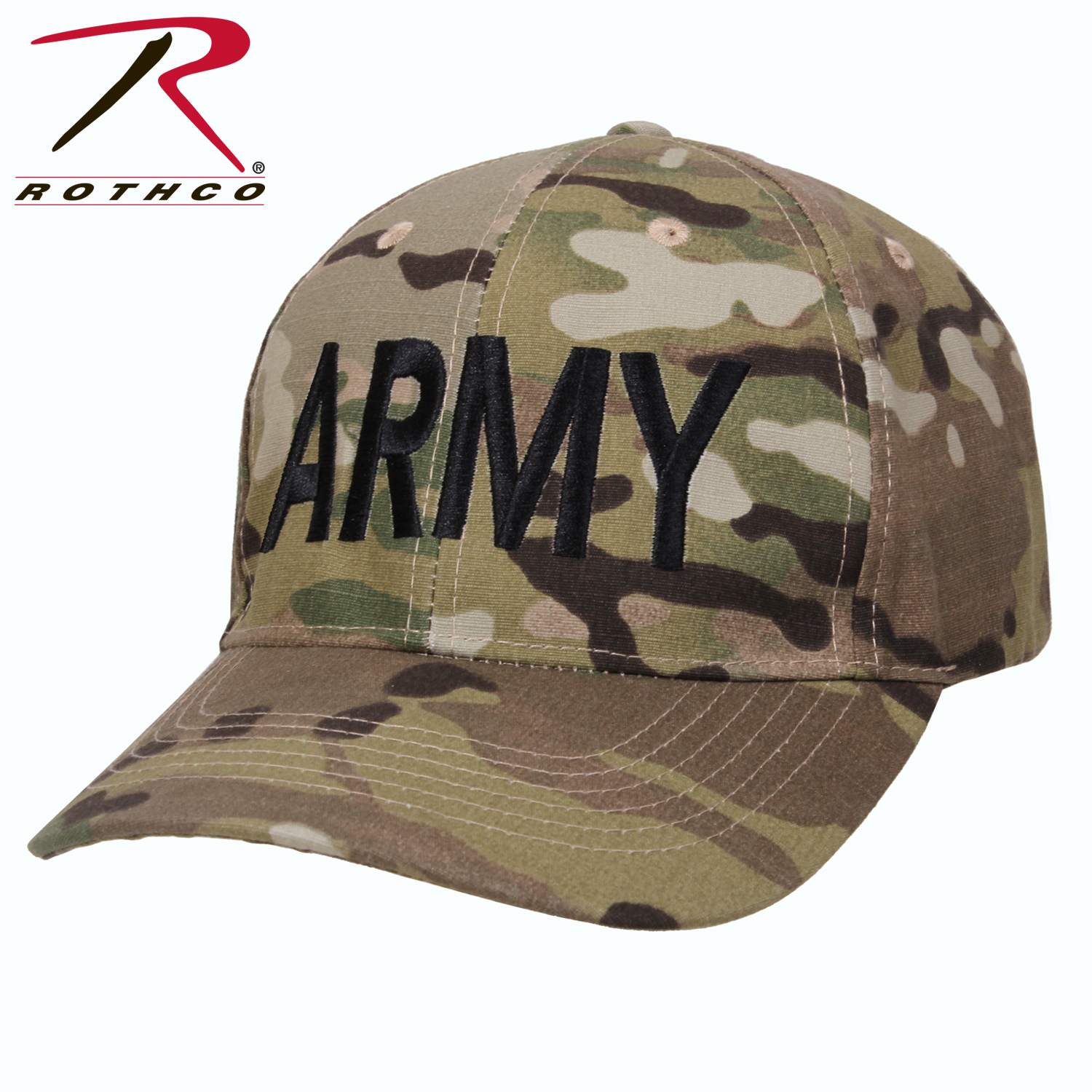 3849fb035e3 Rothco Low Profile Army MultiCam Hat