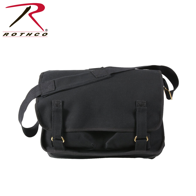 043daed521 Rothco Canvas European School Bag