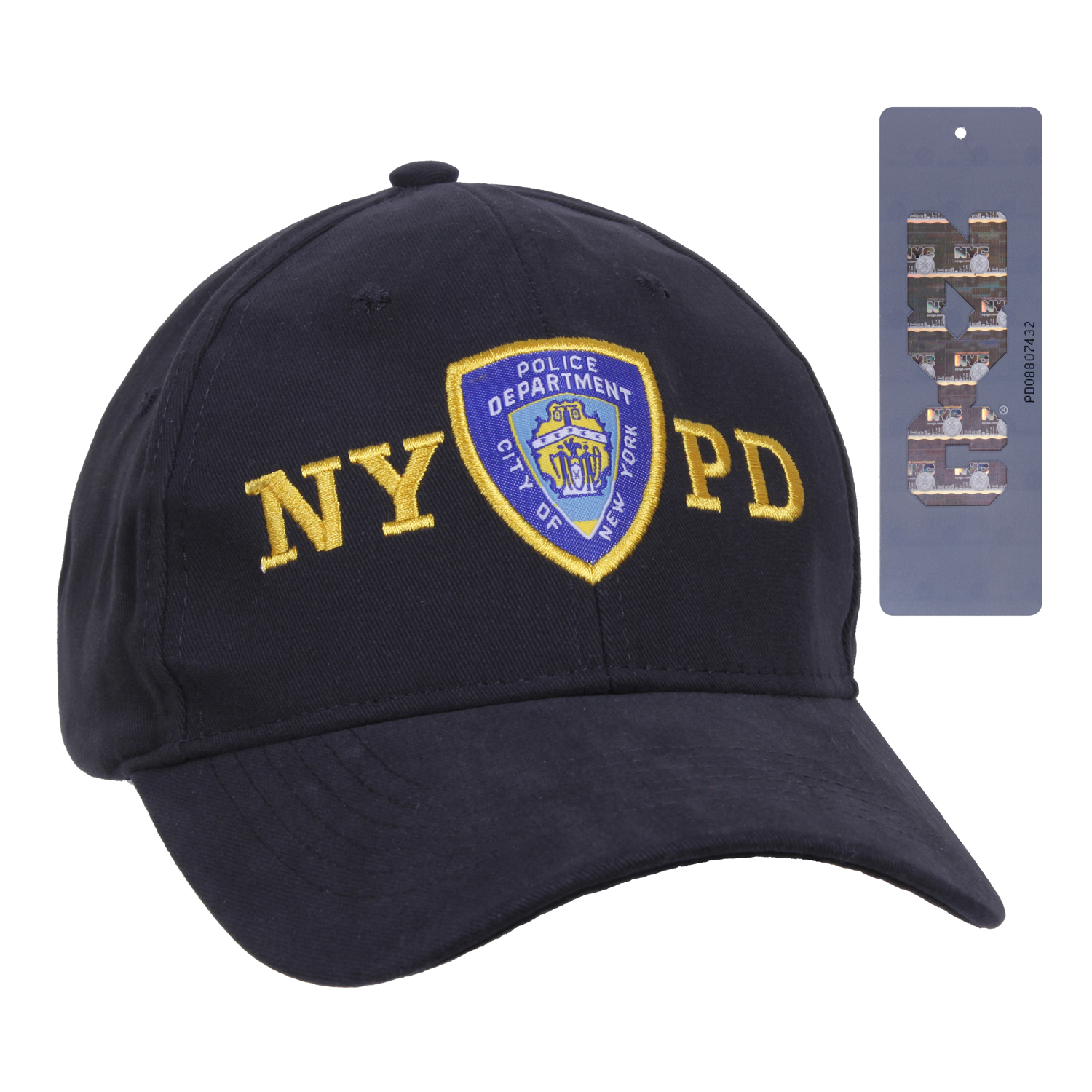Officially Licensed NYPD Adjustable Cap With Emblem ed13e90d9550