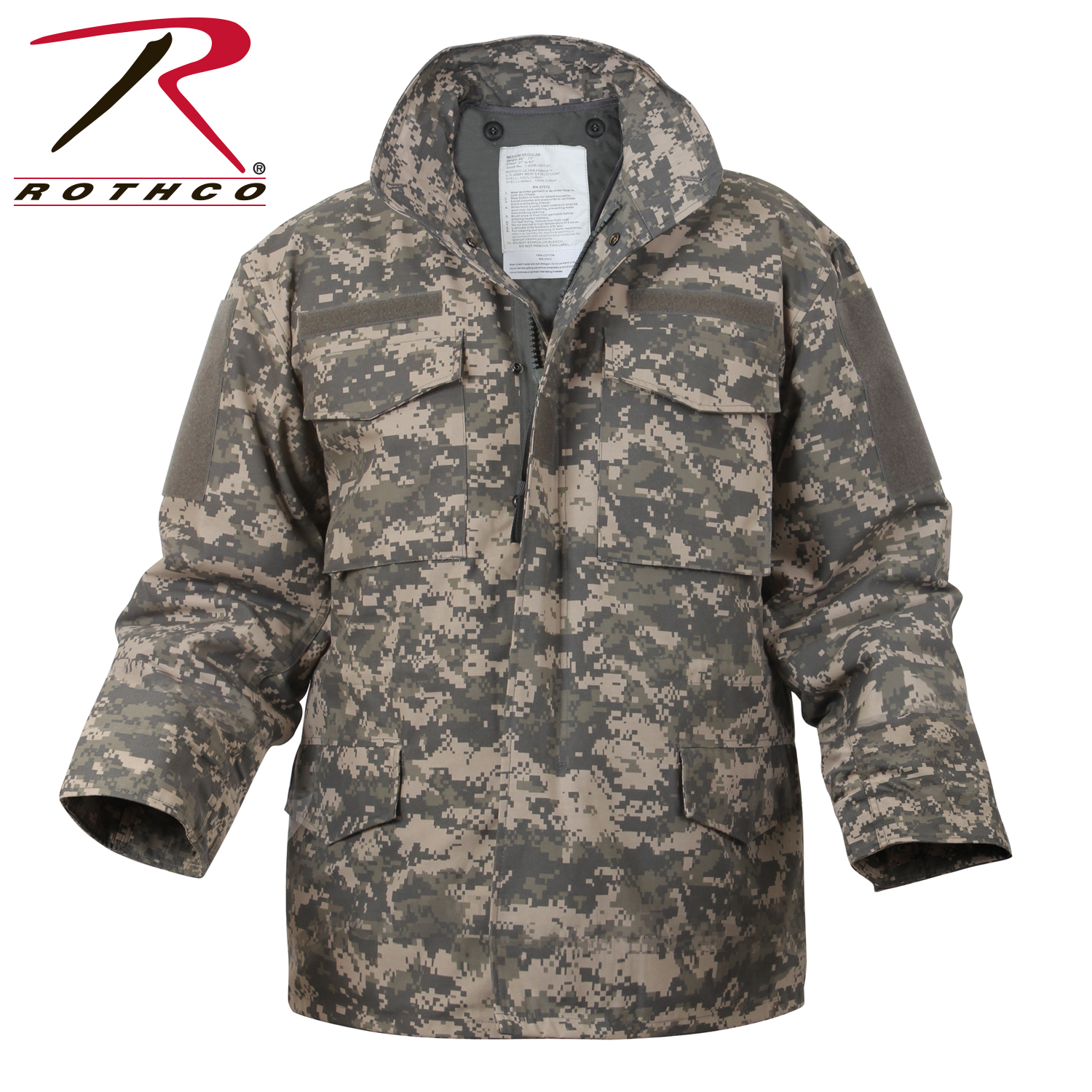 09cc026cacbcb Digital Camo M-65 Field Jacket, m65 field jacket, field jacket, digital.  Loading zoom