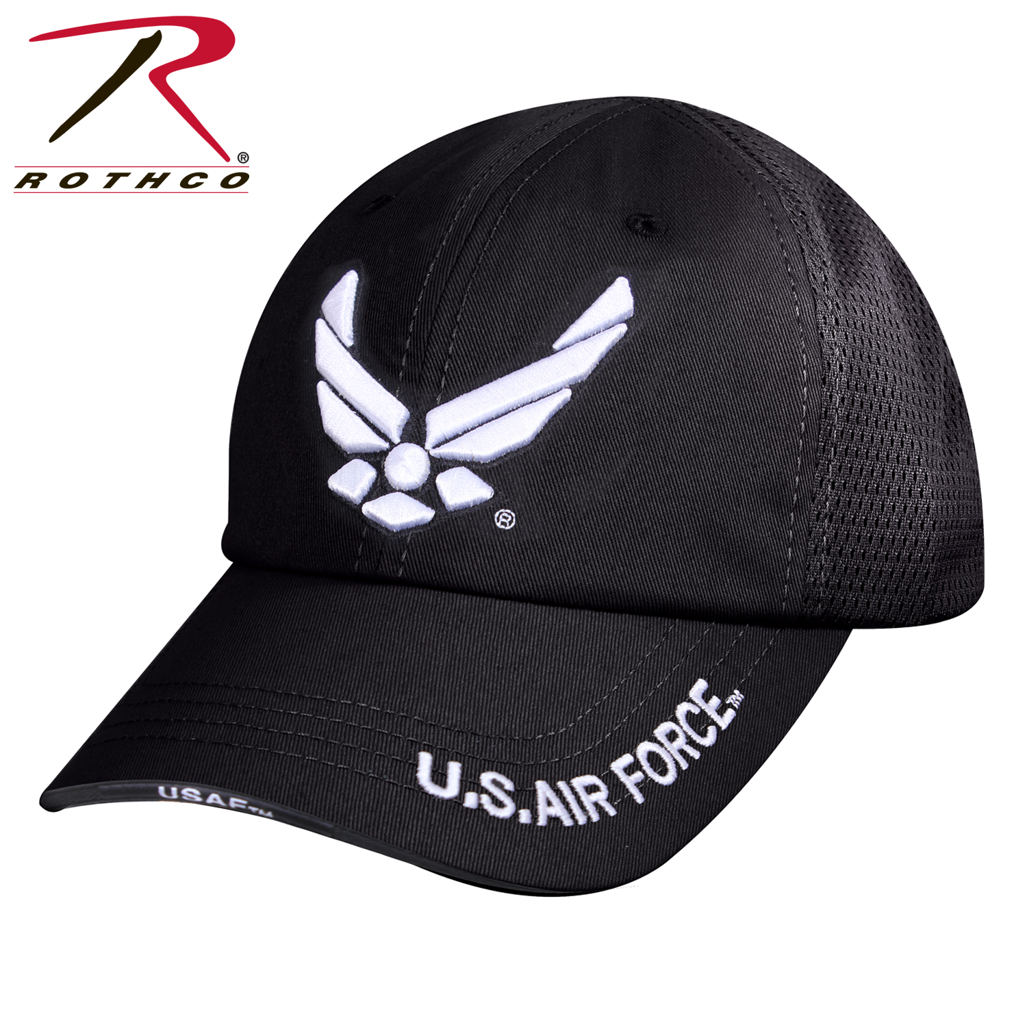 be36bd2b642 Rothco Mesh Back Tactical United States Air Force Wing Cap