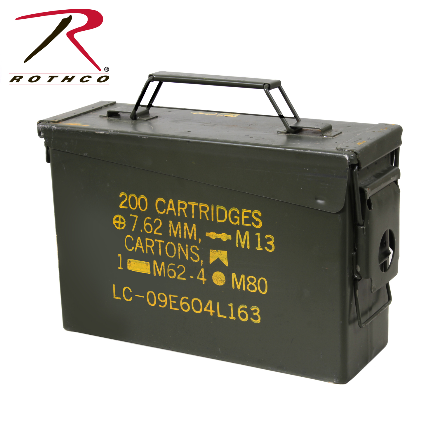 GI 30 50 Caliber Ammo Cans Surplus