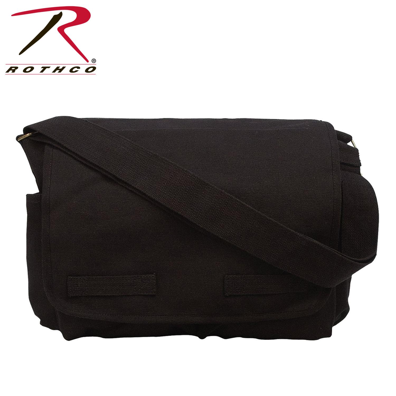 8af739189071 Rothco Vintage Unwashed Canvas Messenger Bag