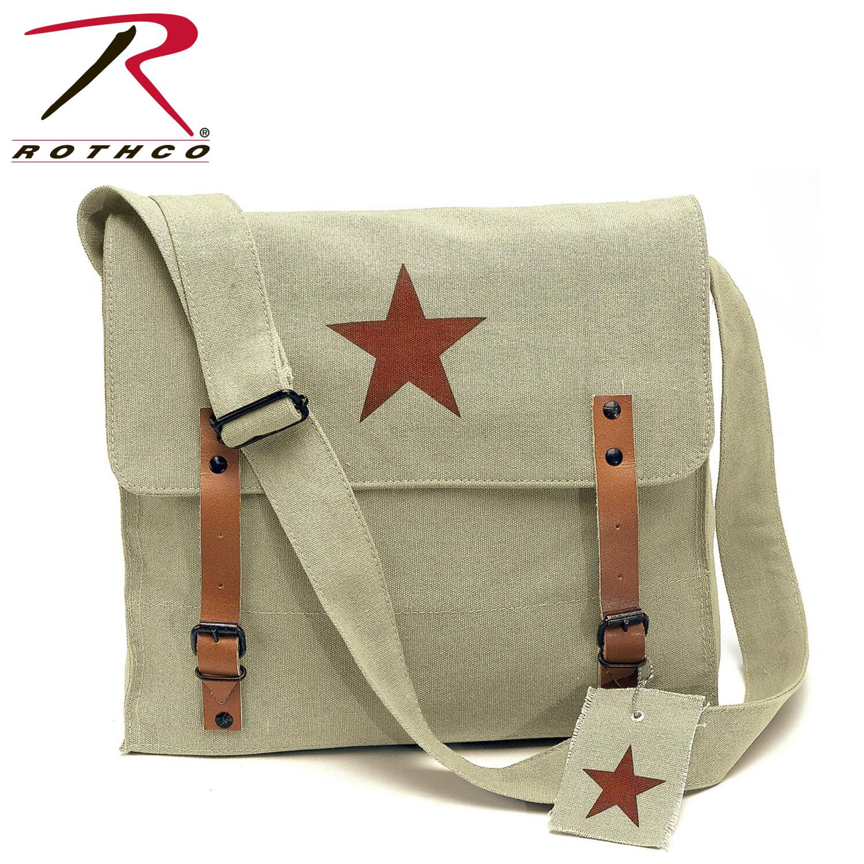 1611b5ecea Rothco Canvas Classic Bag W  Medic Star