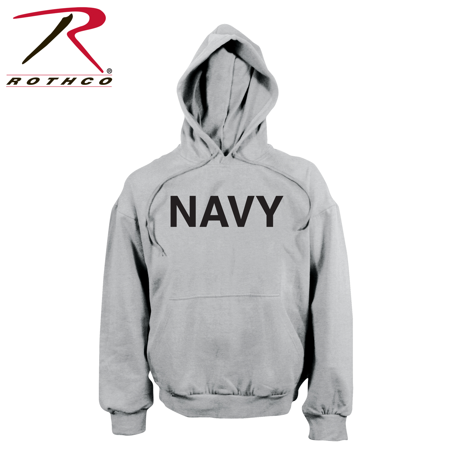 d7826b13 Rothco Navy Pullover Hooded Sweatshirt - Grey