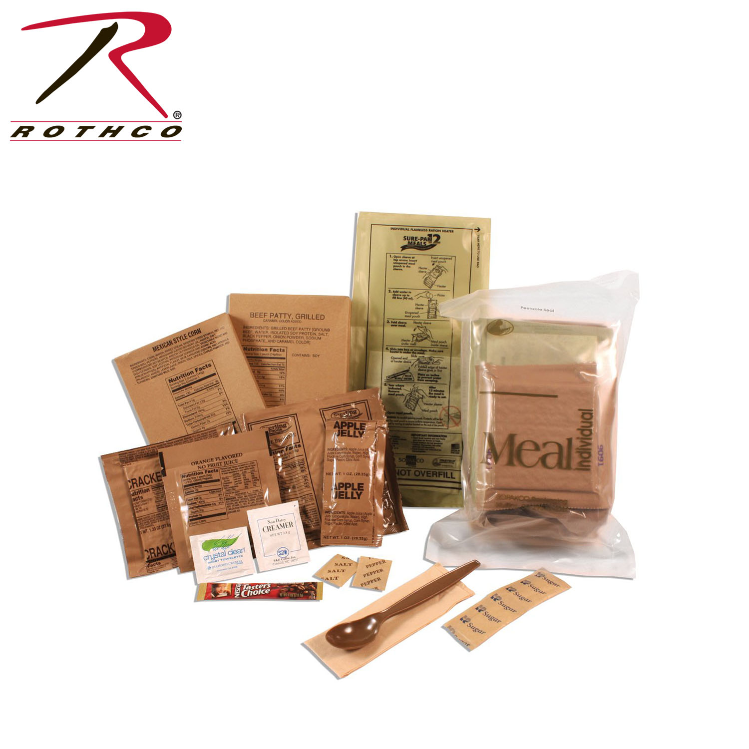 Sure Pak Complete Meals With Heater MRES Provided By Rothco 1a0a03df81