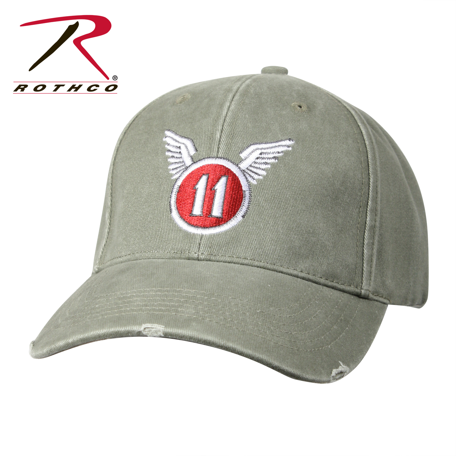 029f0ea1485 Rothco Vintage   11th Airborne   Low Profile Cap