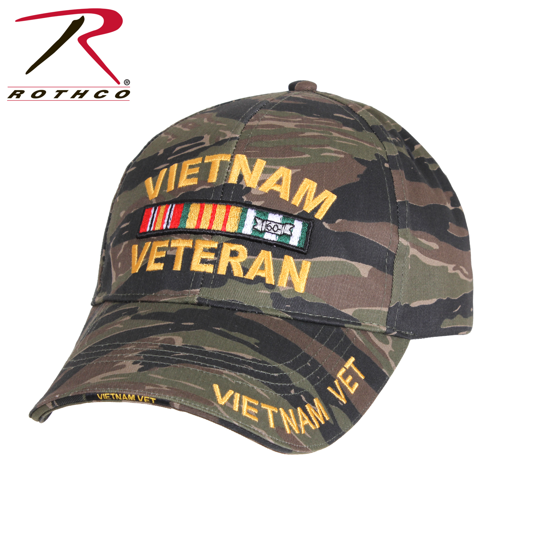 85b731764ac Rothco Deluxe Low Profile Vietnam Tiger Stripe Cap