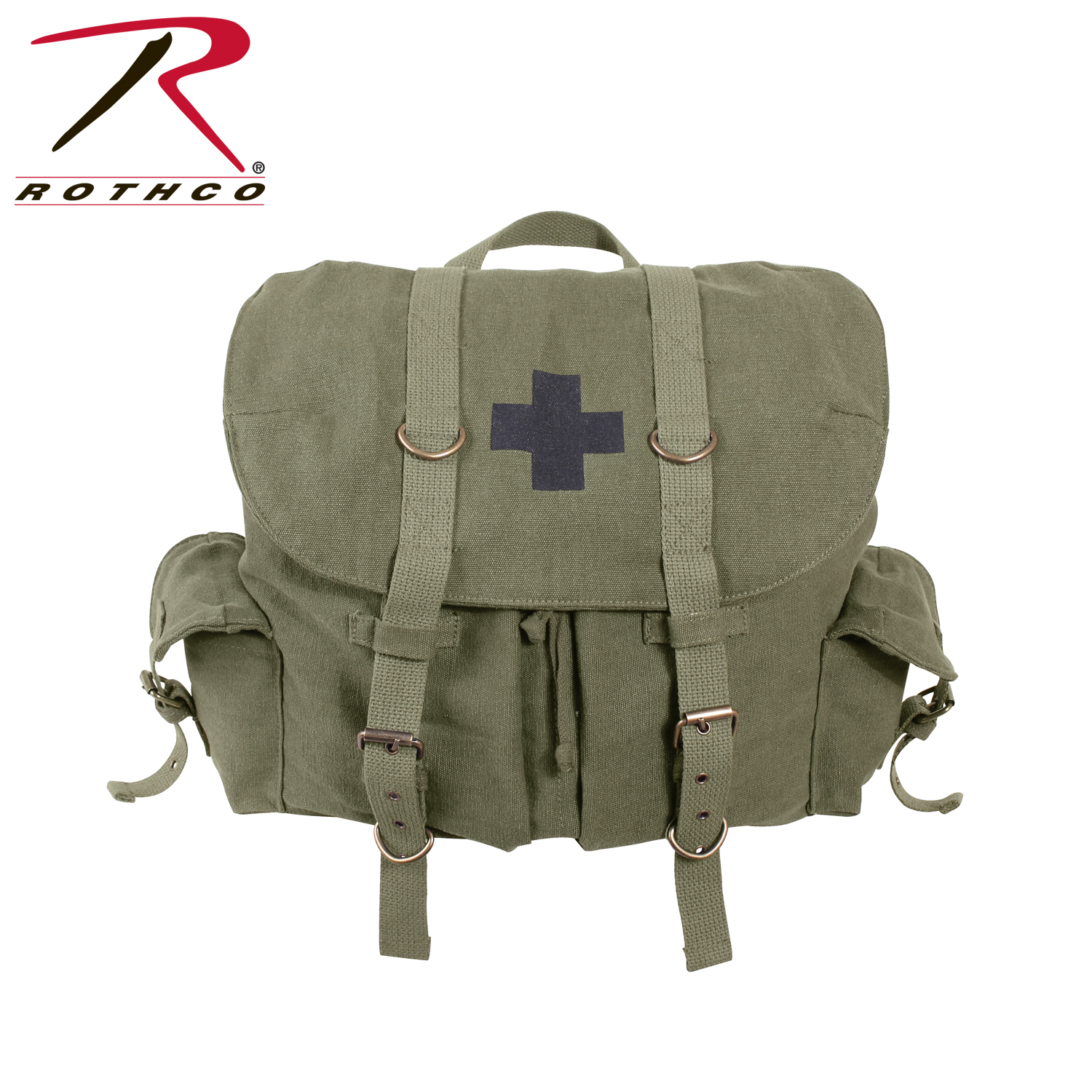 rothco pact weekender backpack with cross