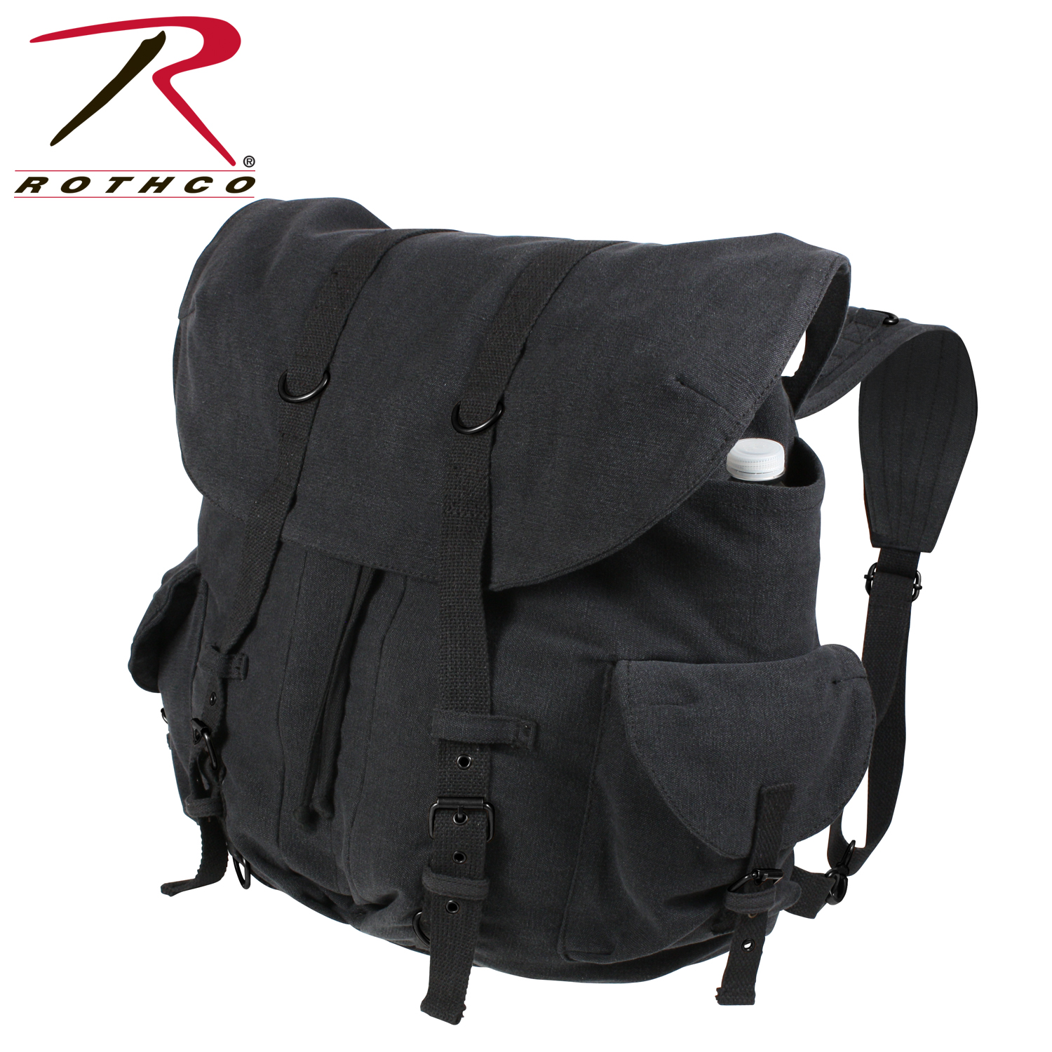 ed11cbbfe Rothco Vintage Weekender Canvas Backpack