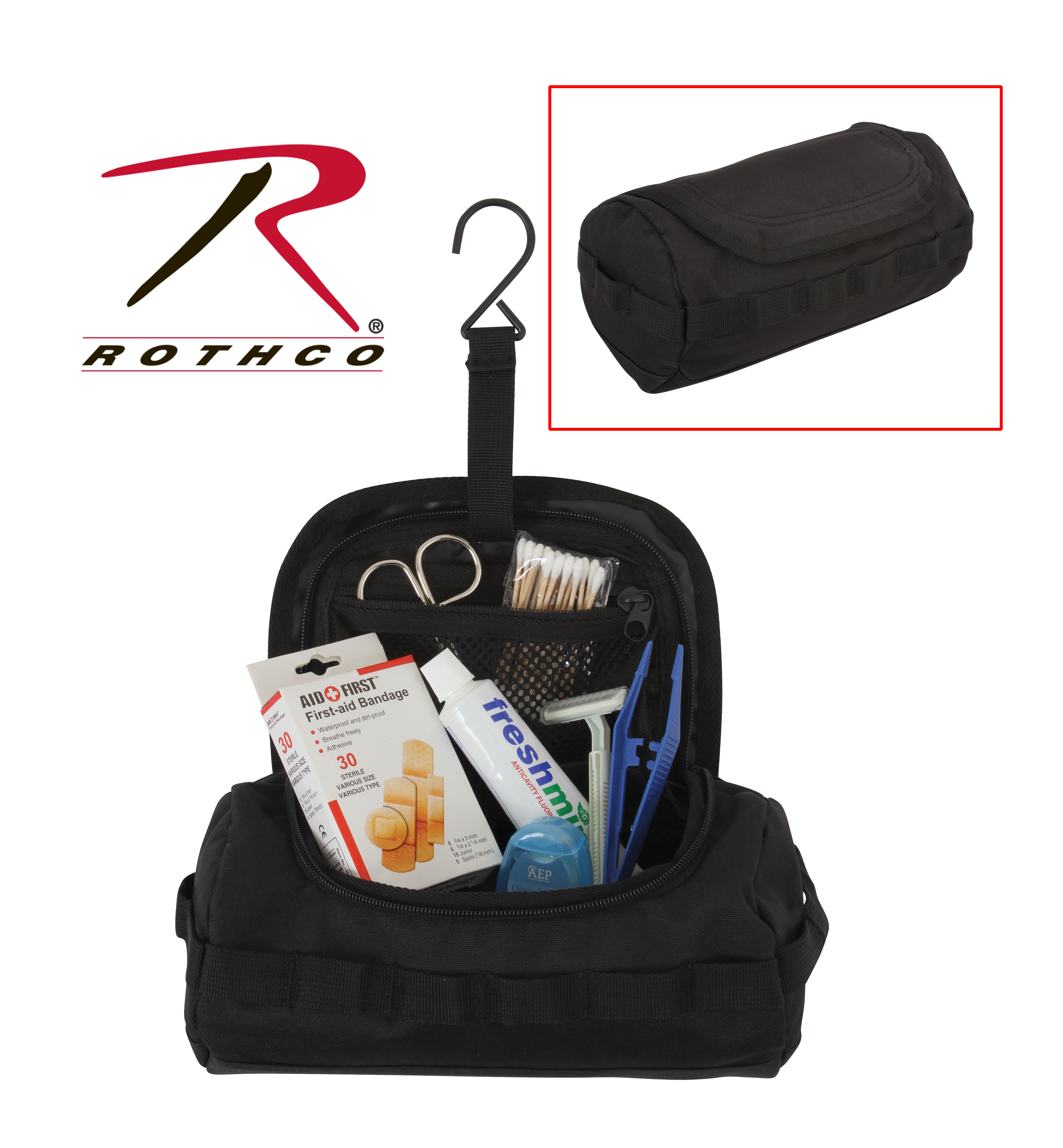 tactical toiletry kit  toiletry kits  kits  makeup kits  bathroom kits  tactical. Rothco Canvas  amp  Leather Travel Kit