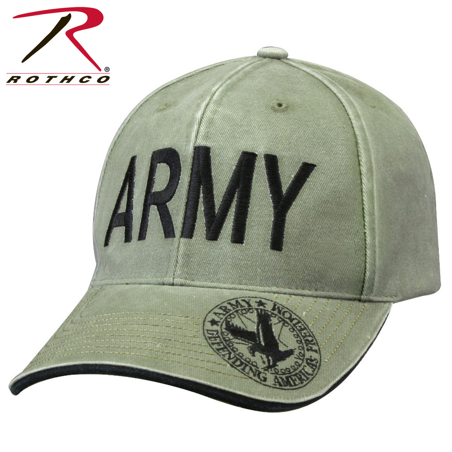 Rothco Vintage Deluxe Army Low Profile Insignia Cap 11cfc84c735d